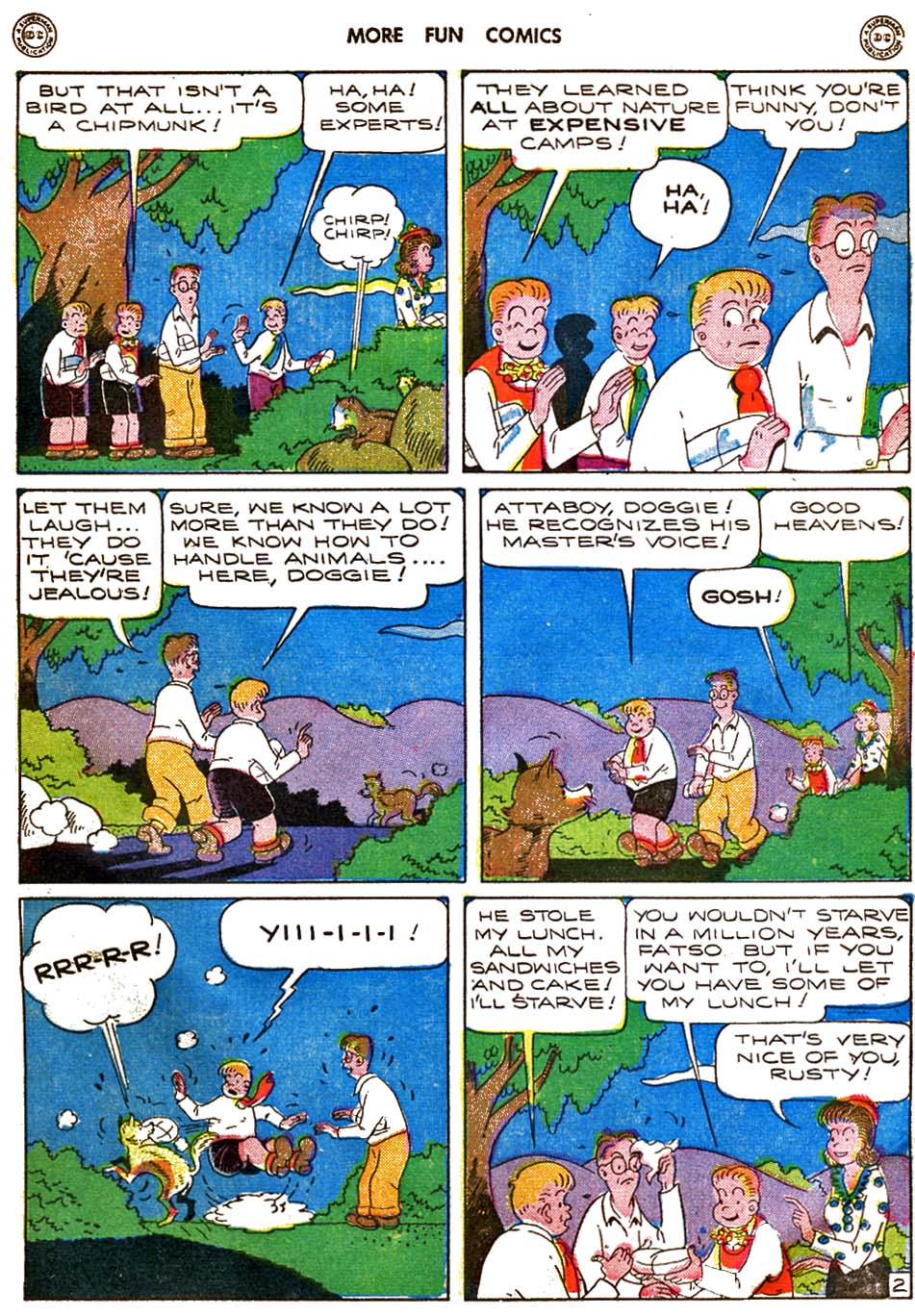 More Fun Comics issue 120 - Page 64