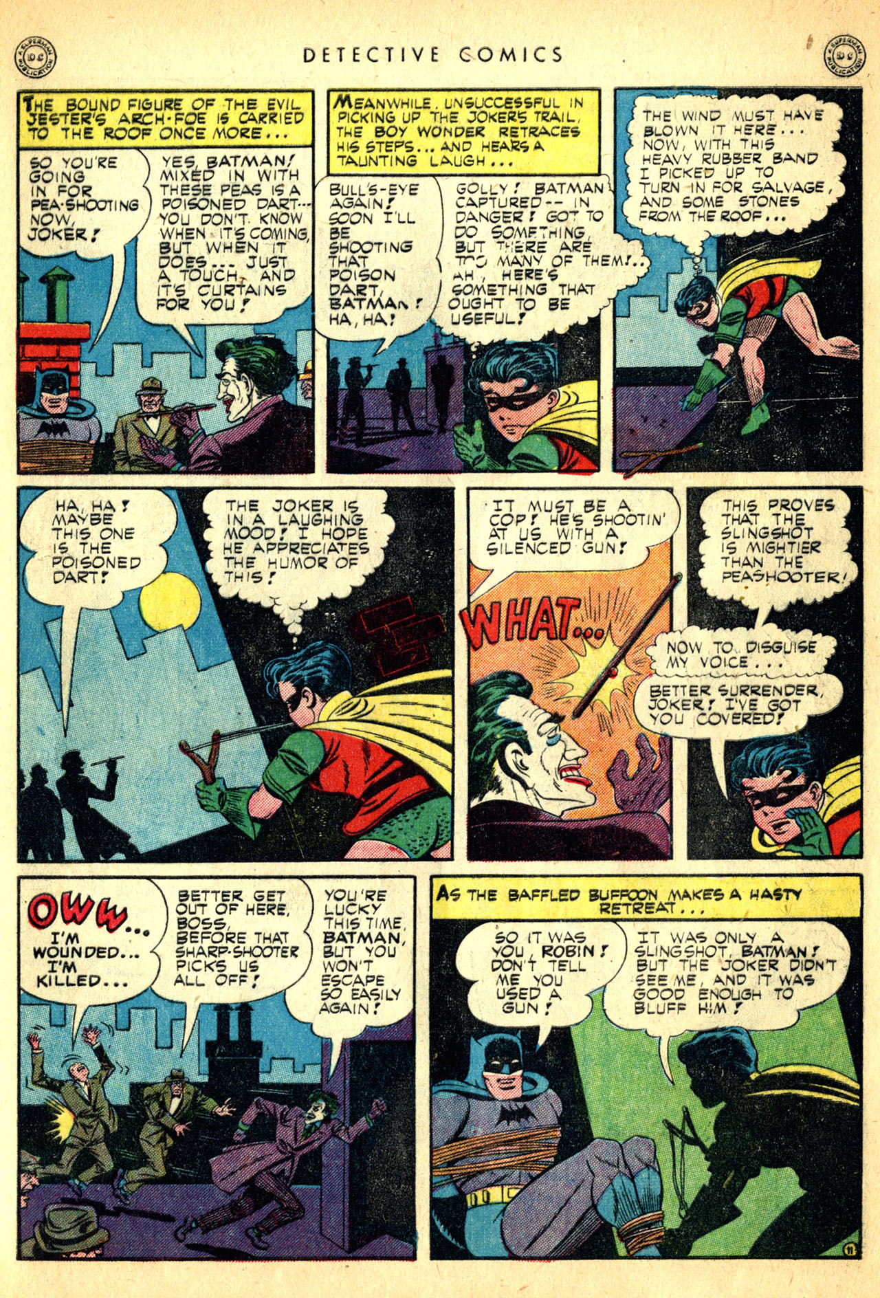 Read online Detective Comics (1937) comic -  Issue #91 - 13