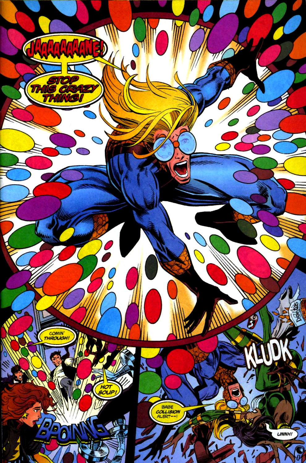 The New Warriors Issue #71 #75 - English 23