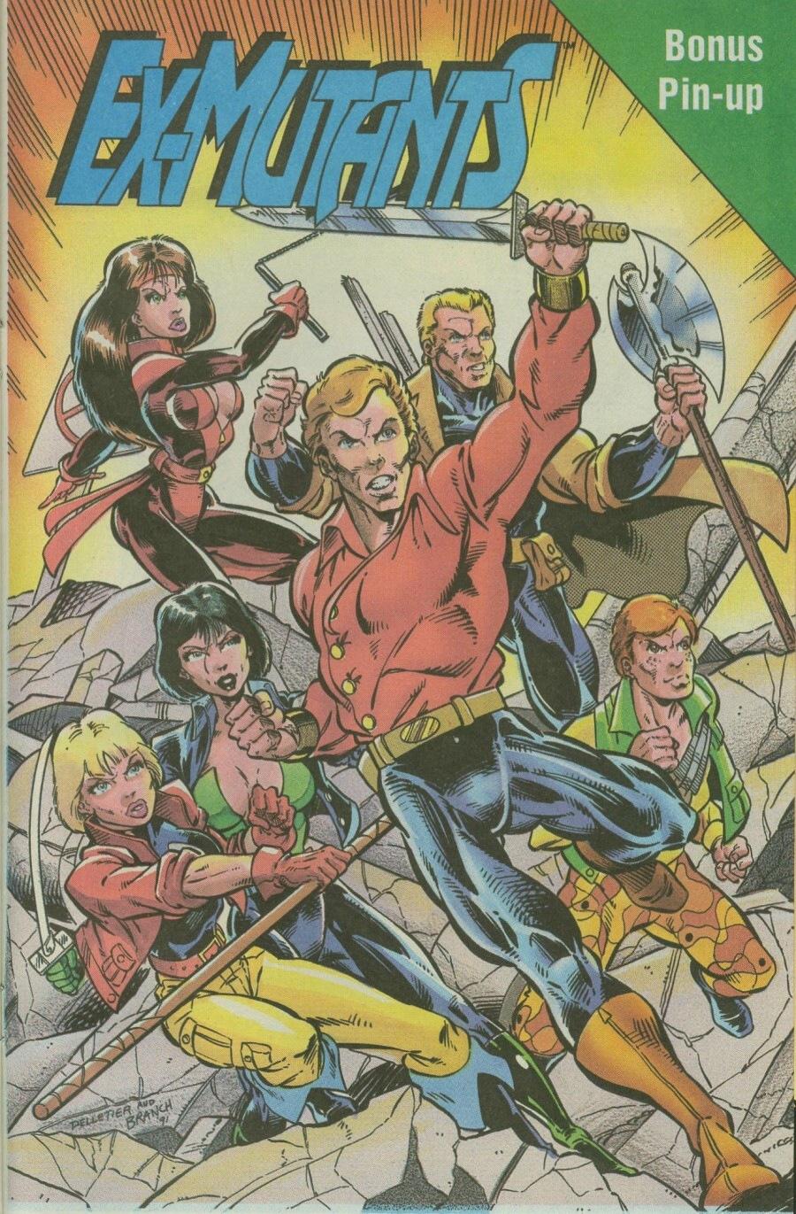 Read online Ex-Mutants comic -  Issue #8 - 32