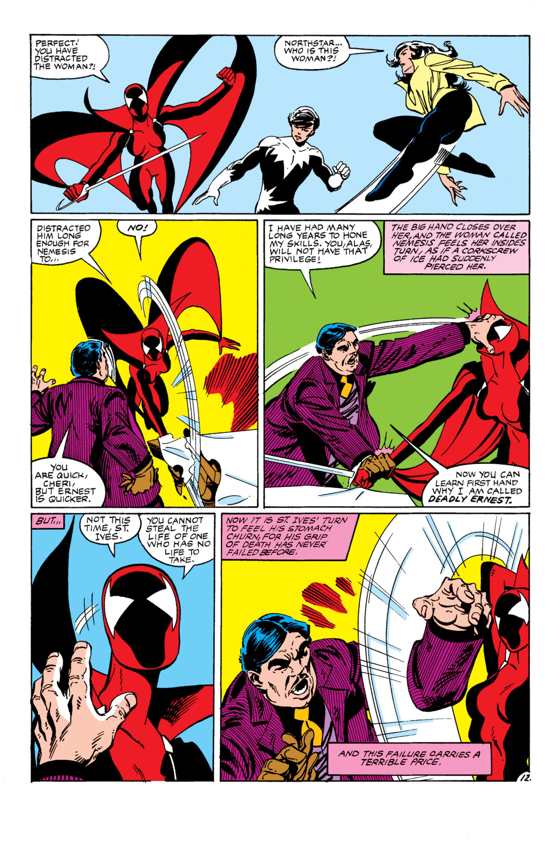 Read online Alpha Flight (1983) comic -  Issue #8 - 13