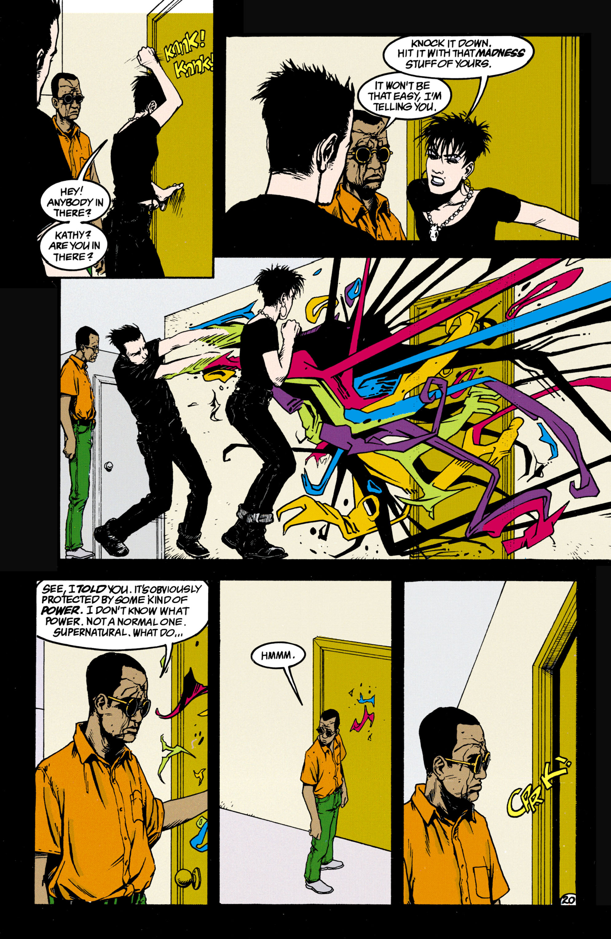 Read online Shade, the Changing Man comic -  Issue #34 - 20