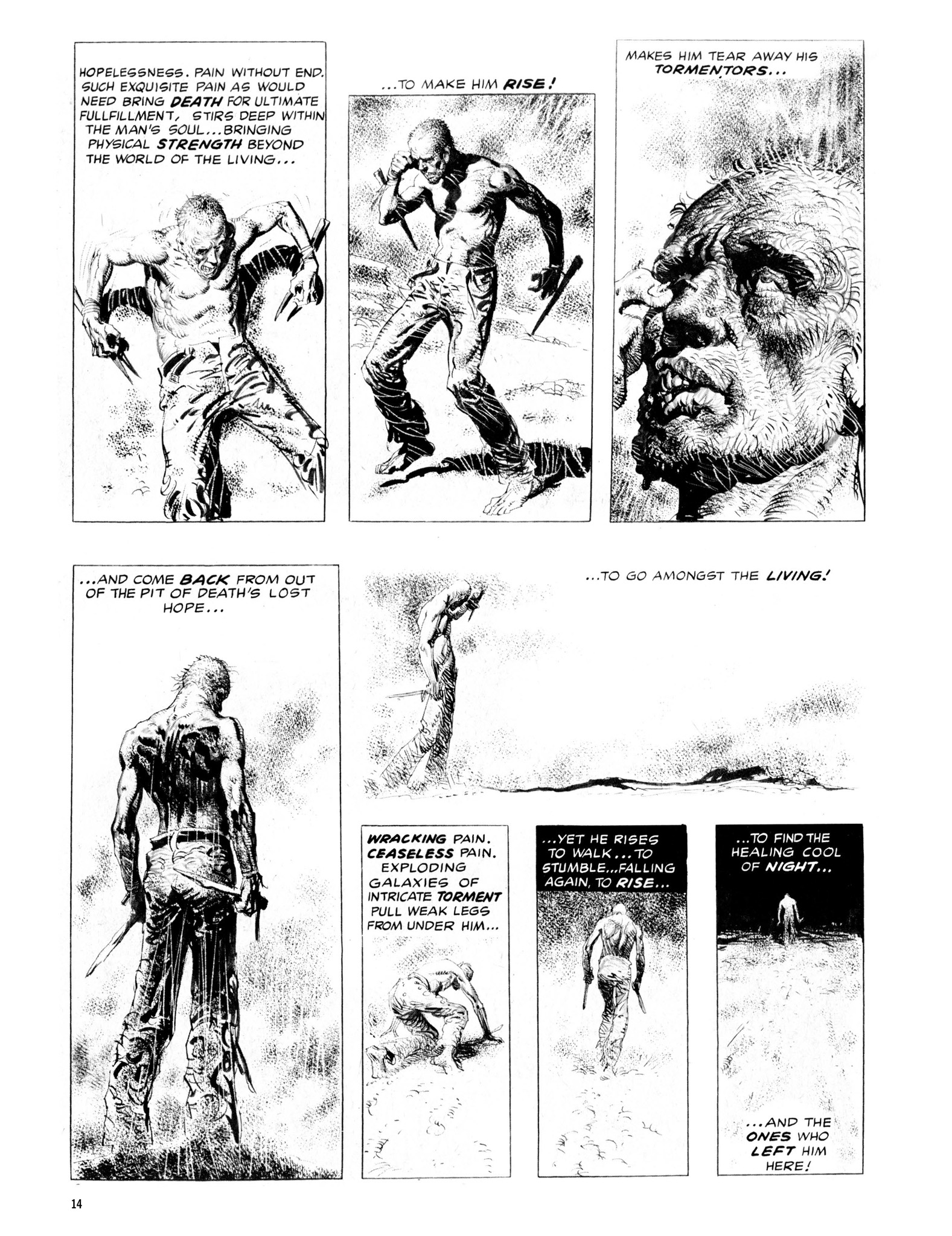 Read online Eerie Archives comic -  Issue # TPB 13 - 15