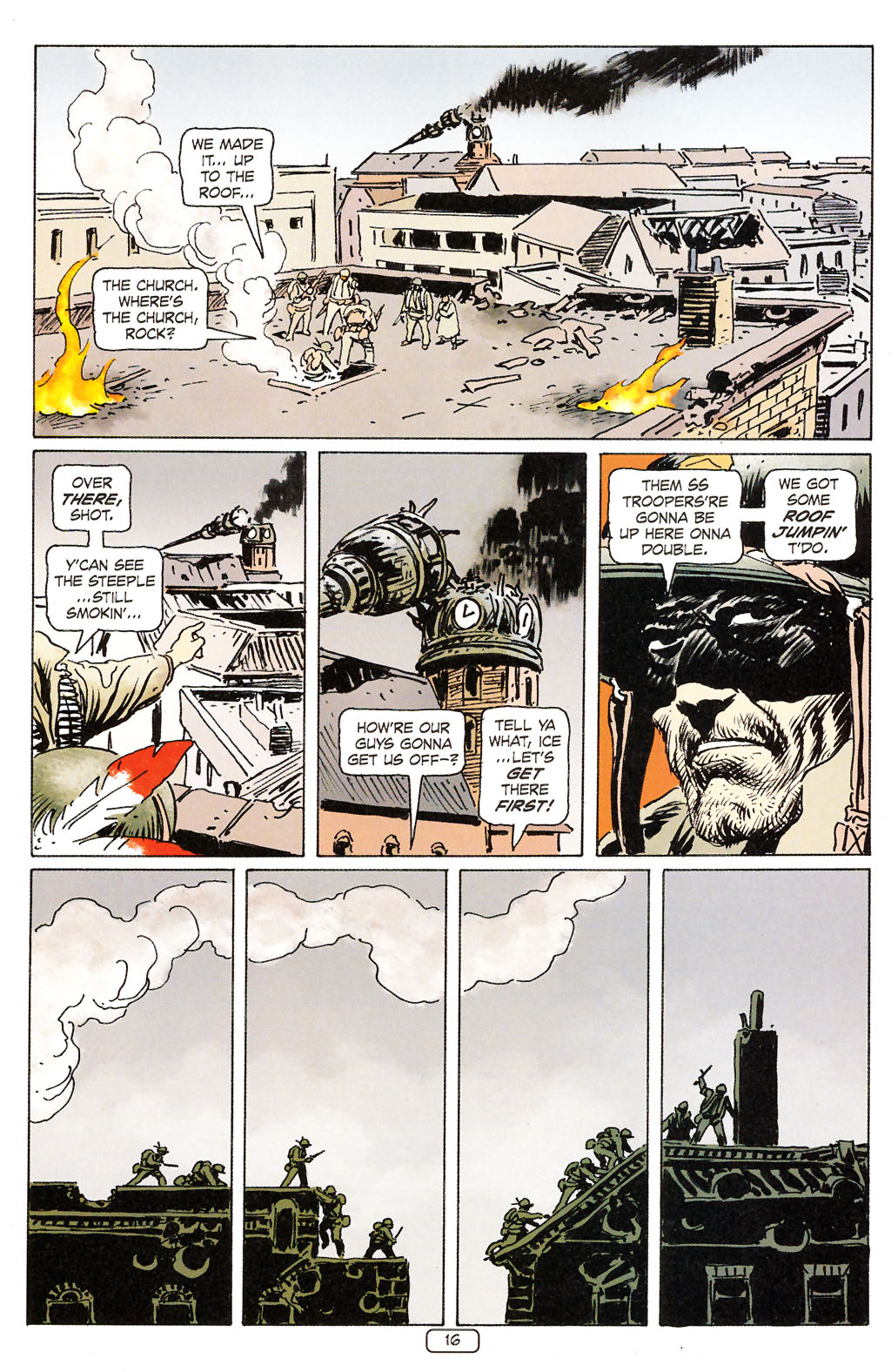 Read online Sgt. Rock: The Prophecy comic -  Issue #6 - 16