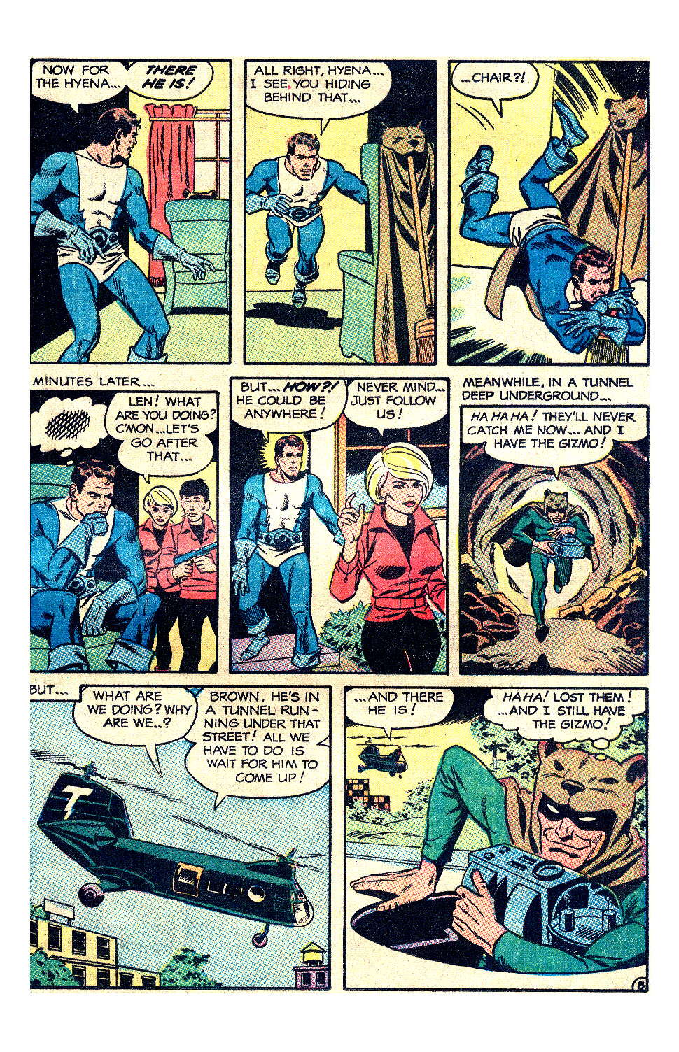 T.H.U.N.D.E.R. Agents (1965) issue 17 - Page 13