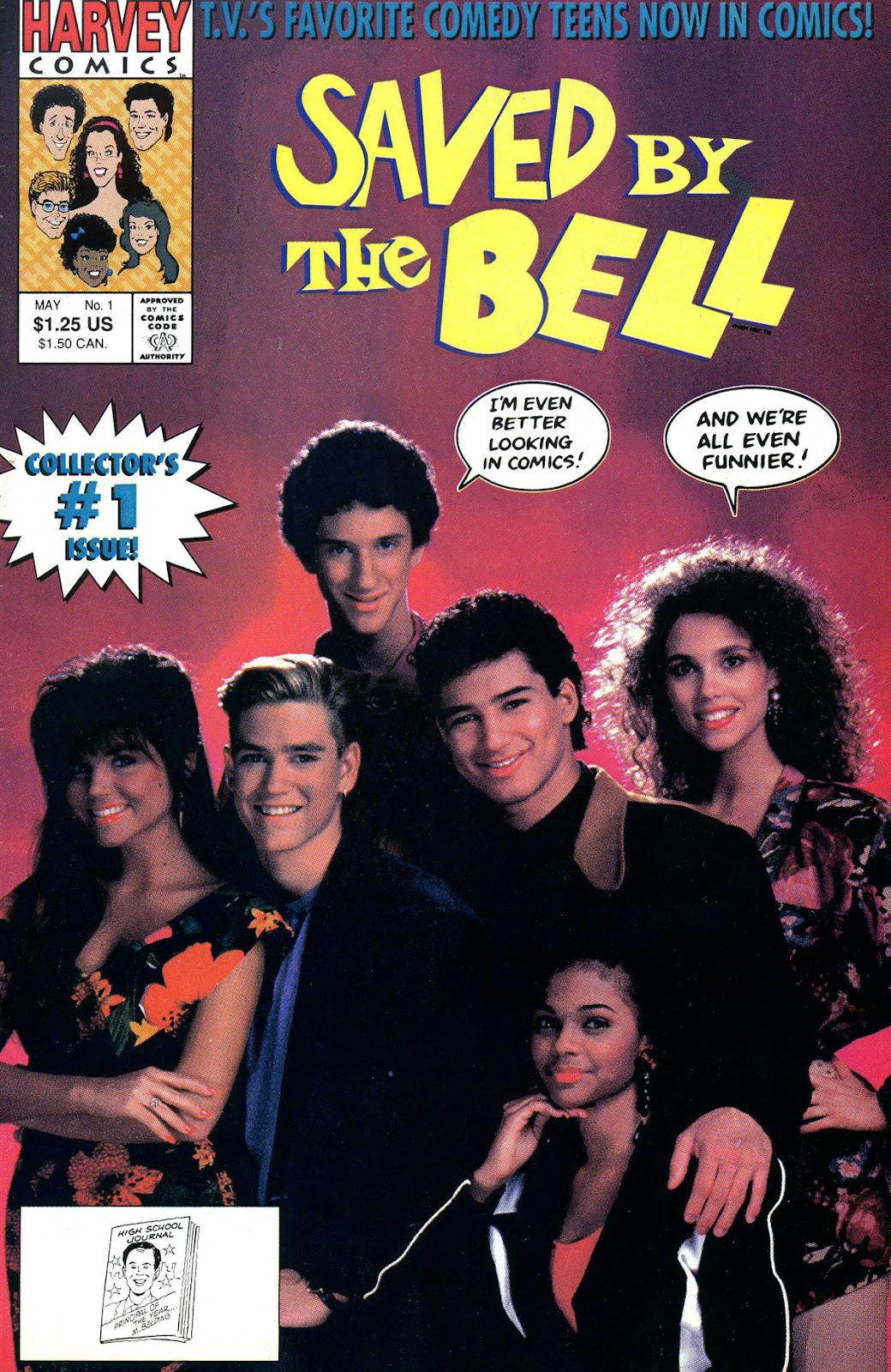 Read online Saved By The Bell comic -  Issue #1 - 1
