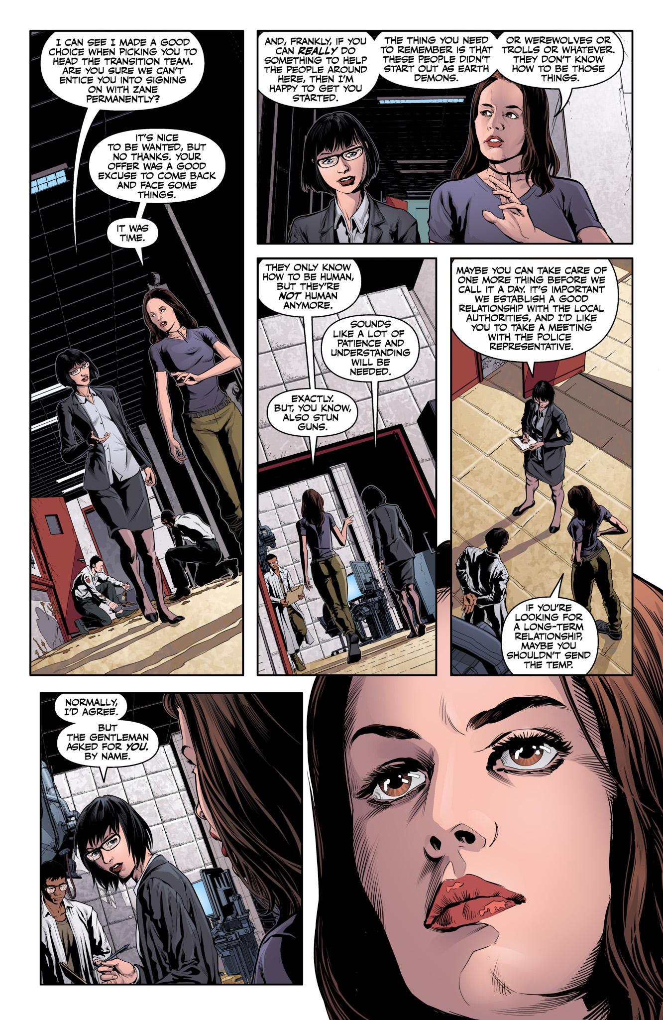 Read online Angel & Faith Season 10 comic -  Issue #11 - 14