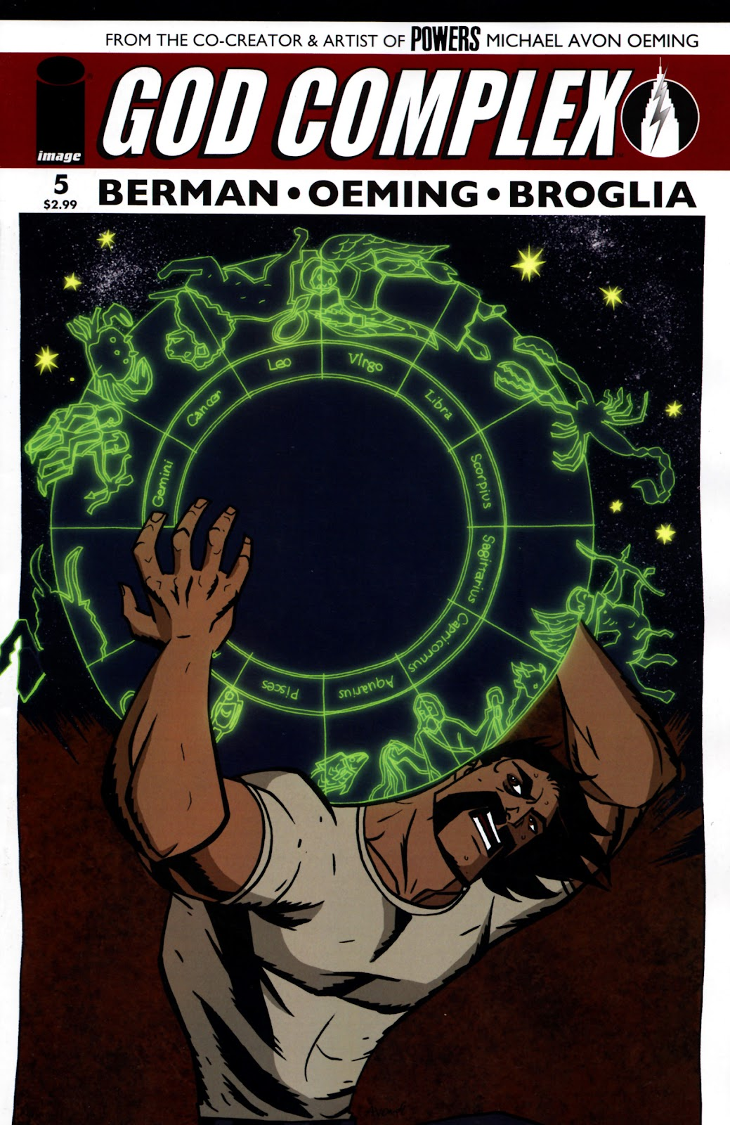 God Complex (2009) issue 5 - Page 1