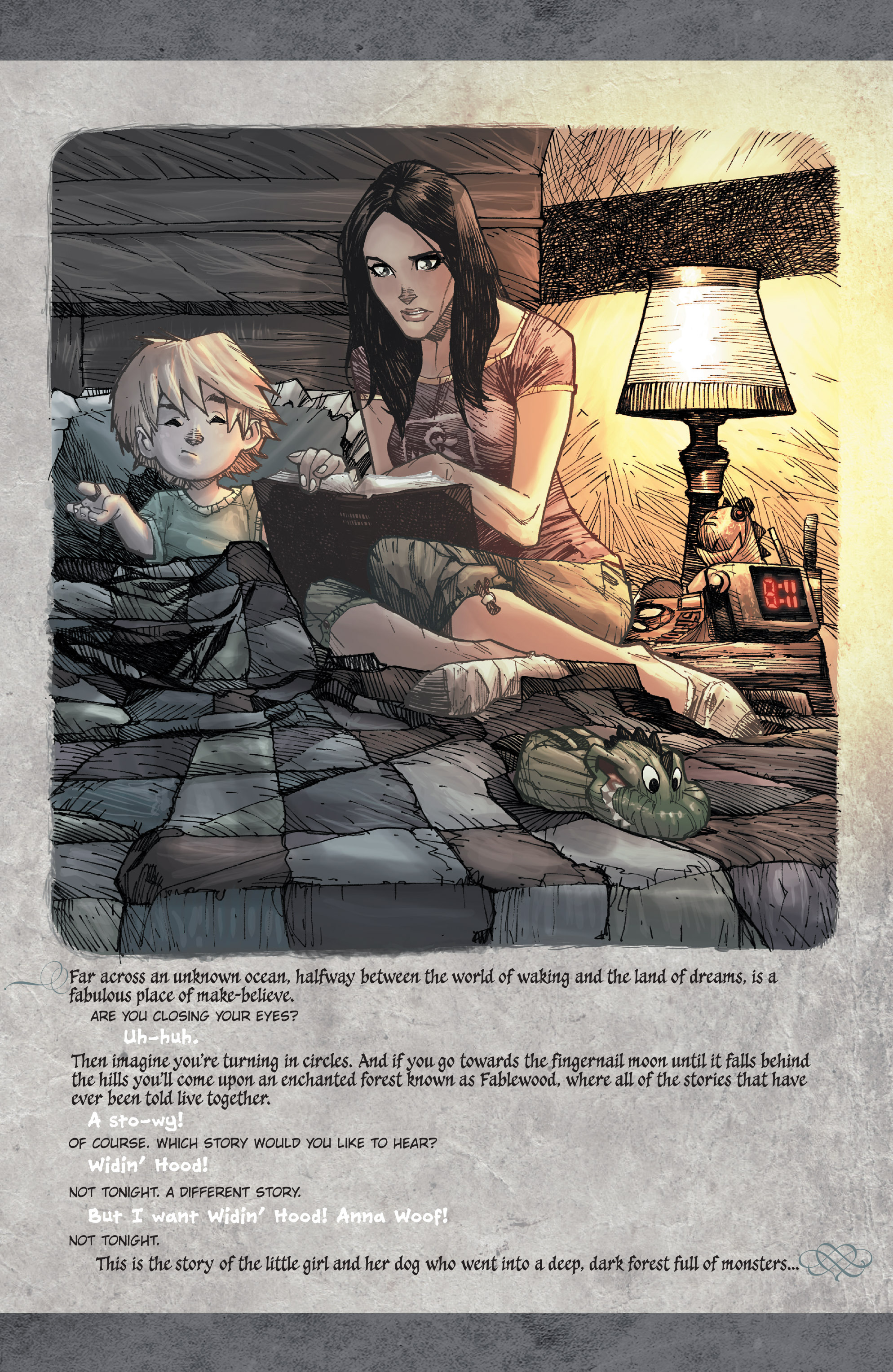 Read online Fairy Quest: Outcasts comic -  Issue #1 - 3