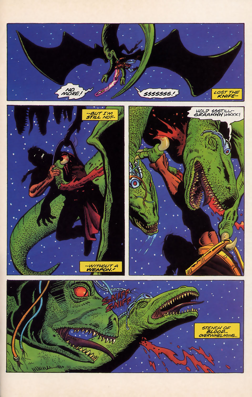 Read online Turok, Dinosaur Hunter (1993) comic -  Issue #18 - 16