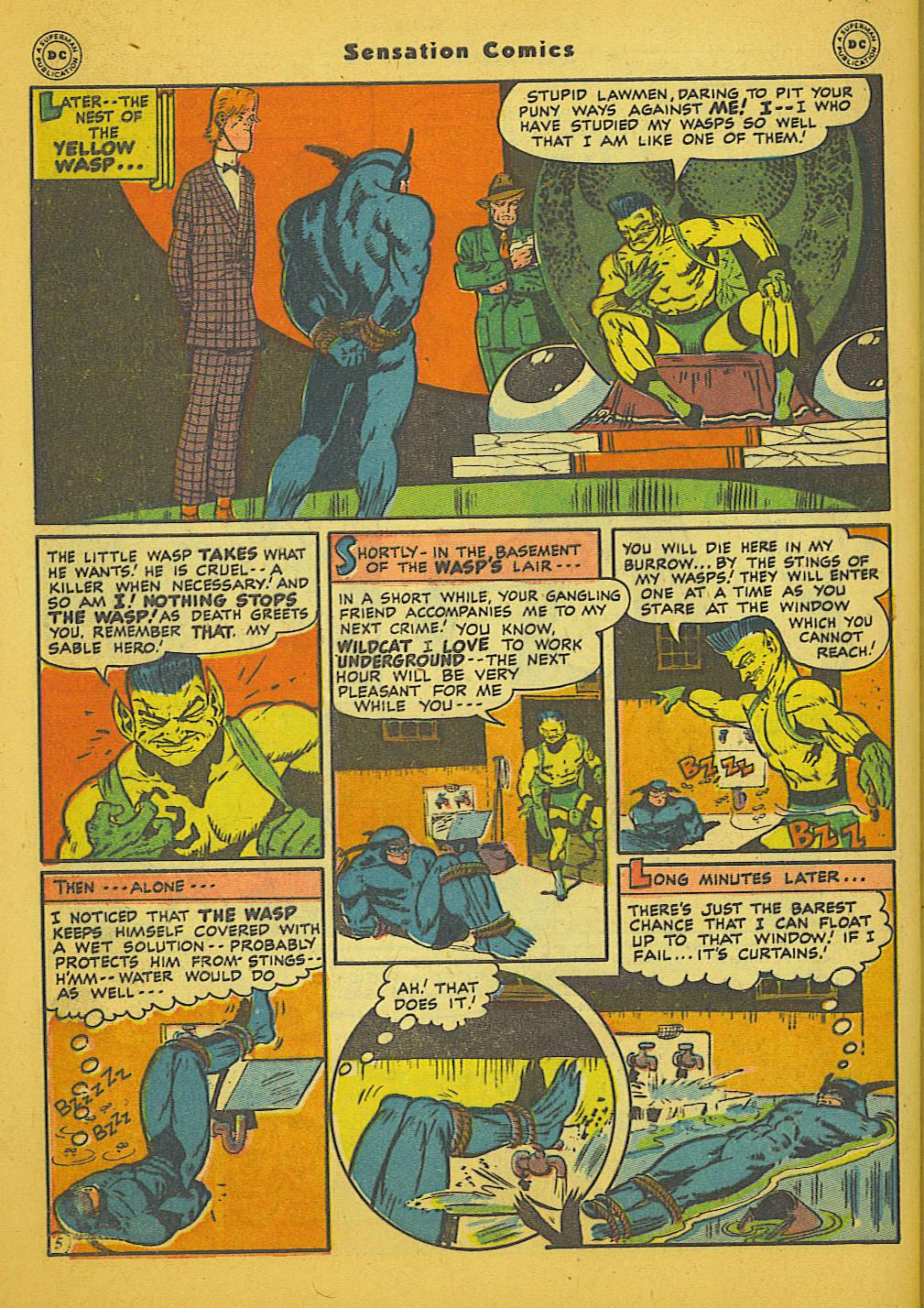 Read online Sensation (Mystery) Comics comic -  Issue #66 - 46