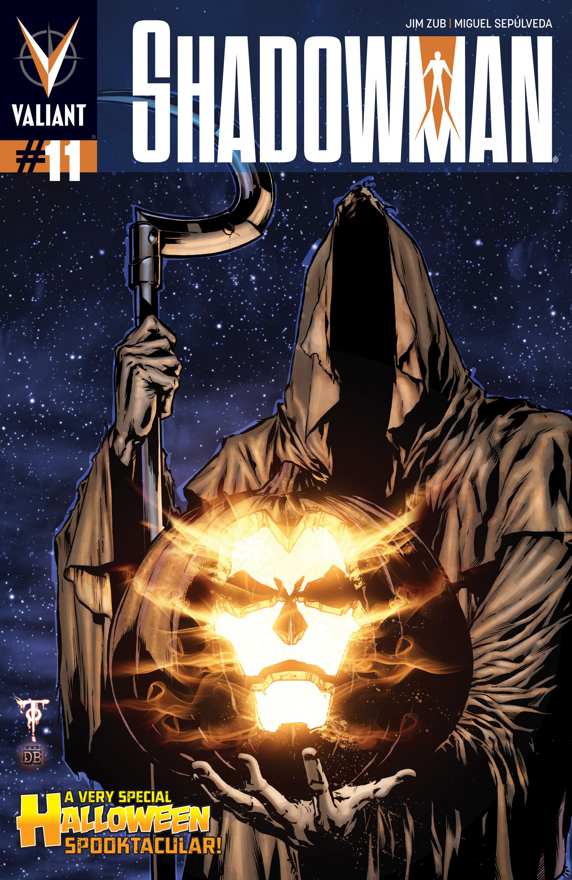 Read online Shadowman (2012) comic -  Issue #11 - 1