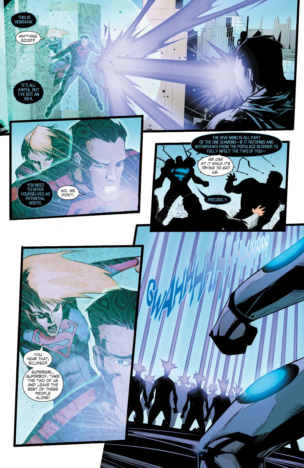 Read online Smallville Season 11 [II] comic -  Issue # TPB 8 - 150