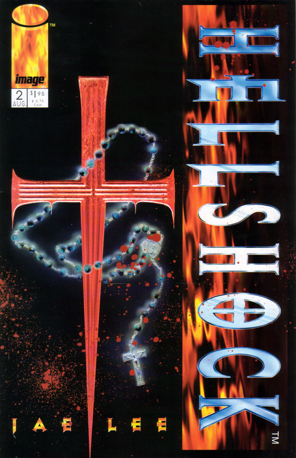 Read online Hellshock comic -  Issue #2 - 1