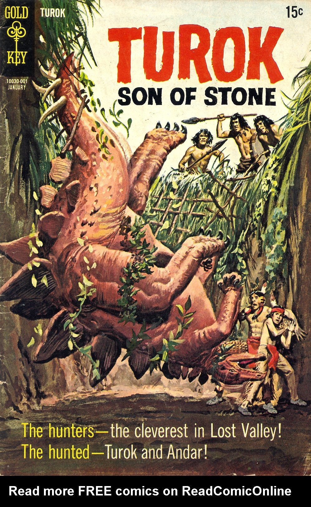 Read online Turok, Son of Stone comic -  Issue #68 - 1