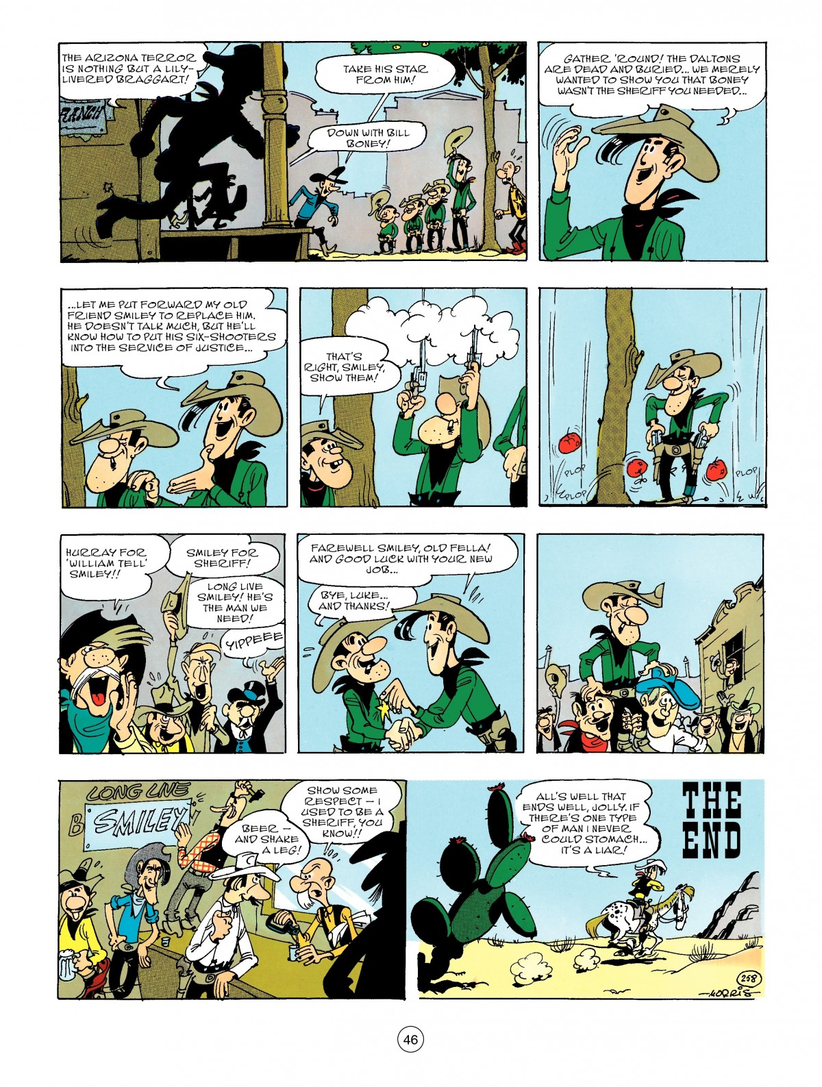 Read online A Lucky Luke Adventure comic -  Issue #47 - 46