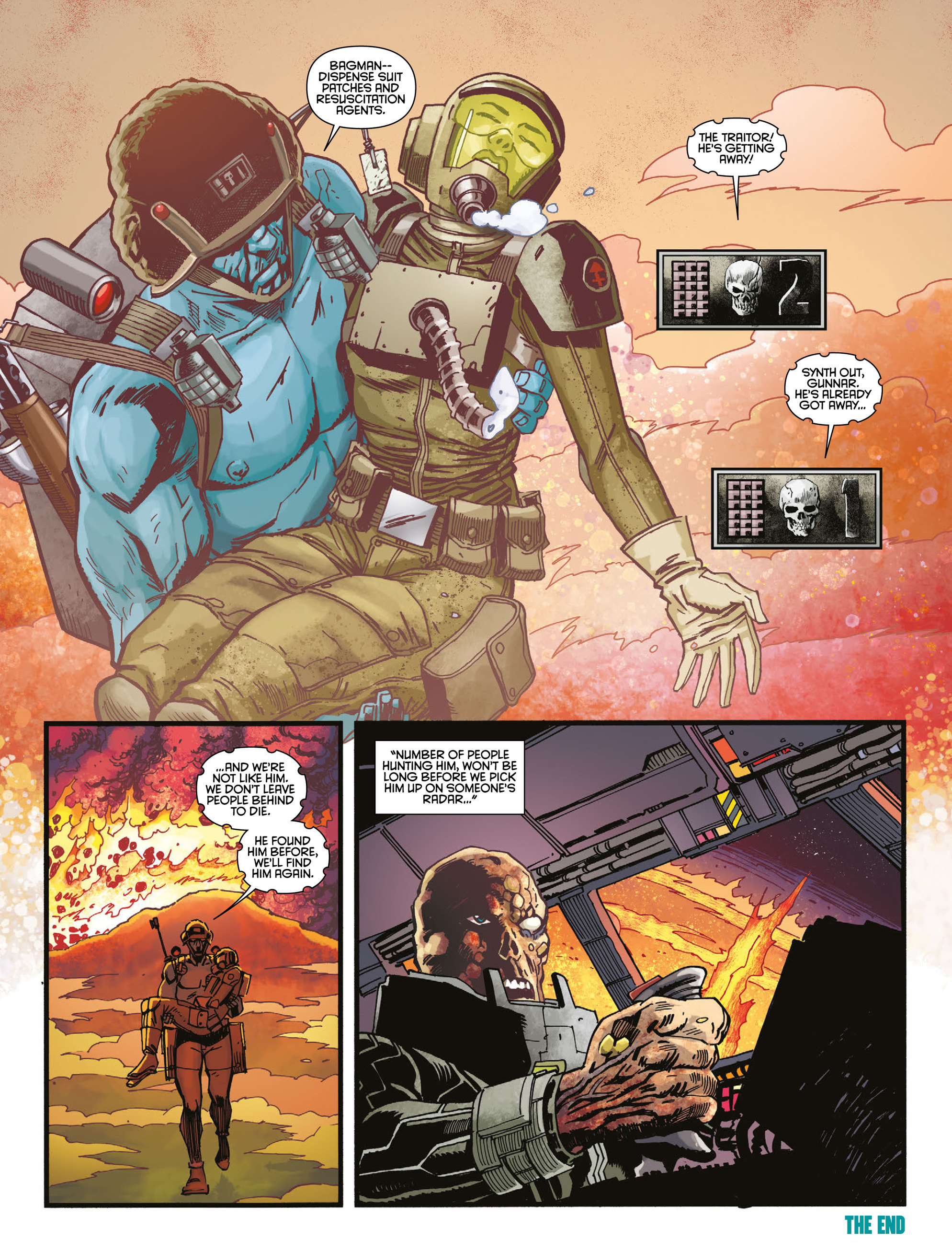 Read online 2000 AD comic -  Issue #2009 - 19
