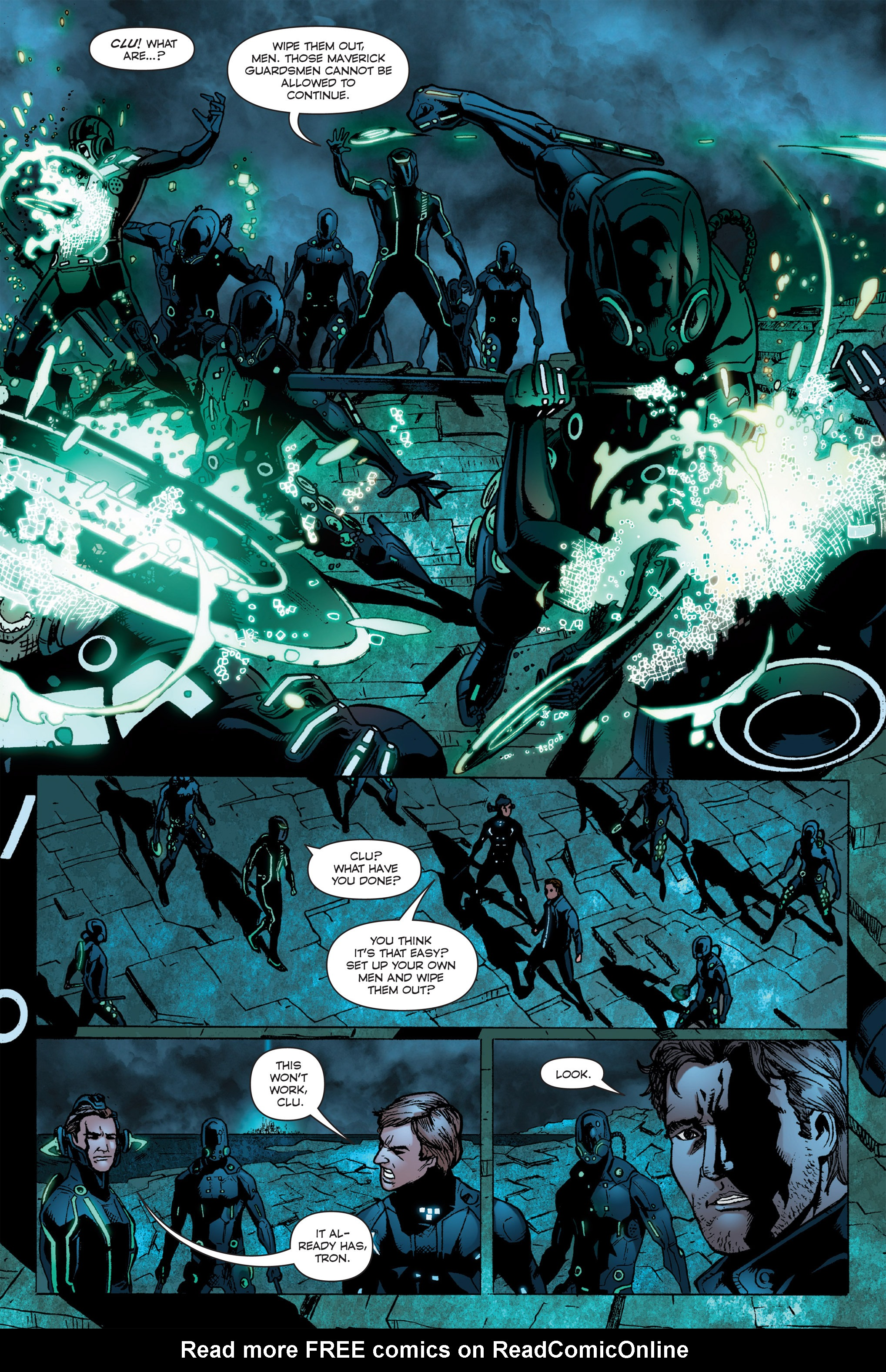 Read online TRON: Betrayal comic -  Issue # TPB - 102