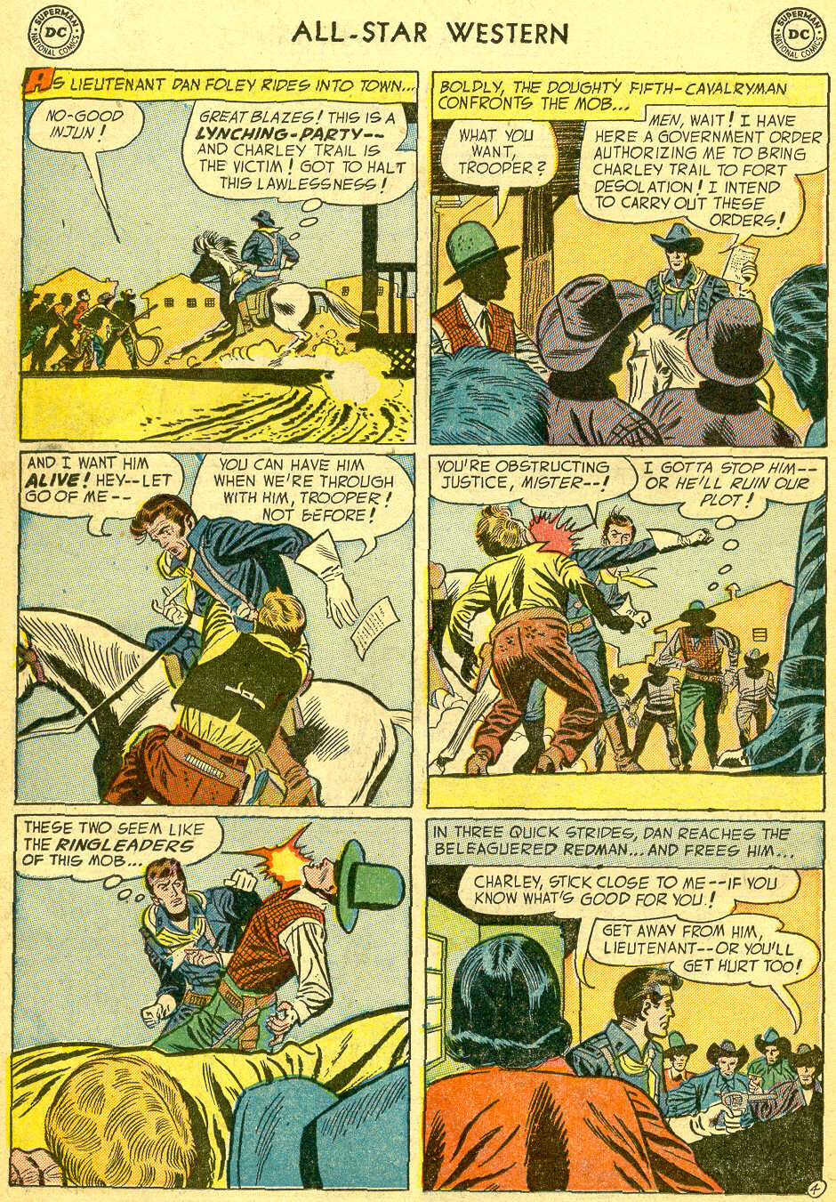 Read online All-Star Western (1951) comic -  Issue #75 - 22
