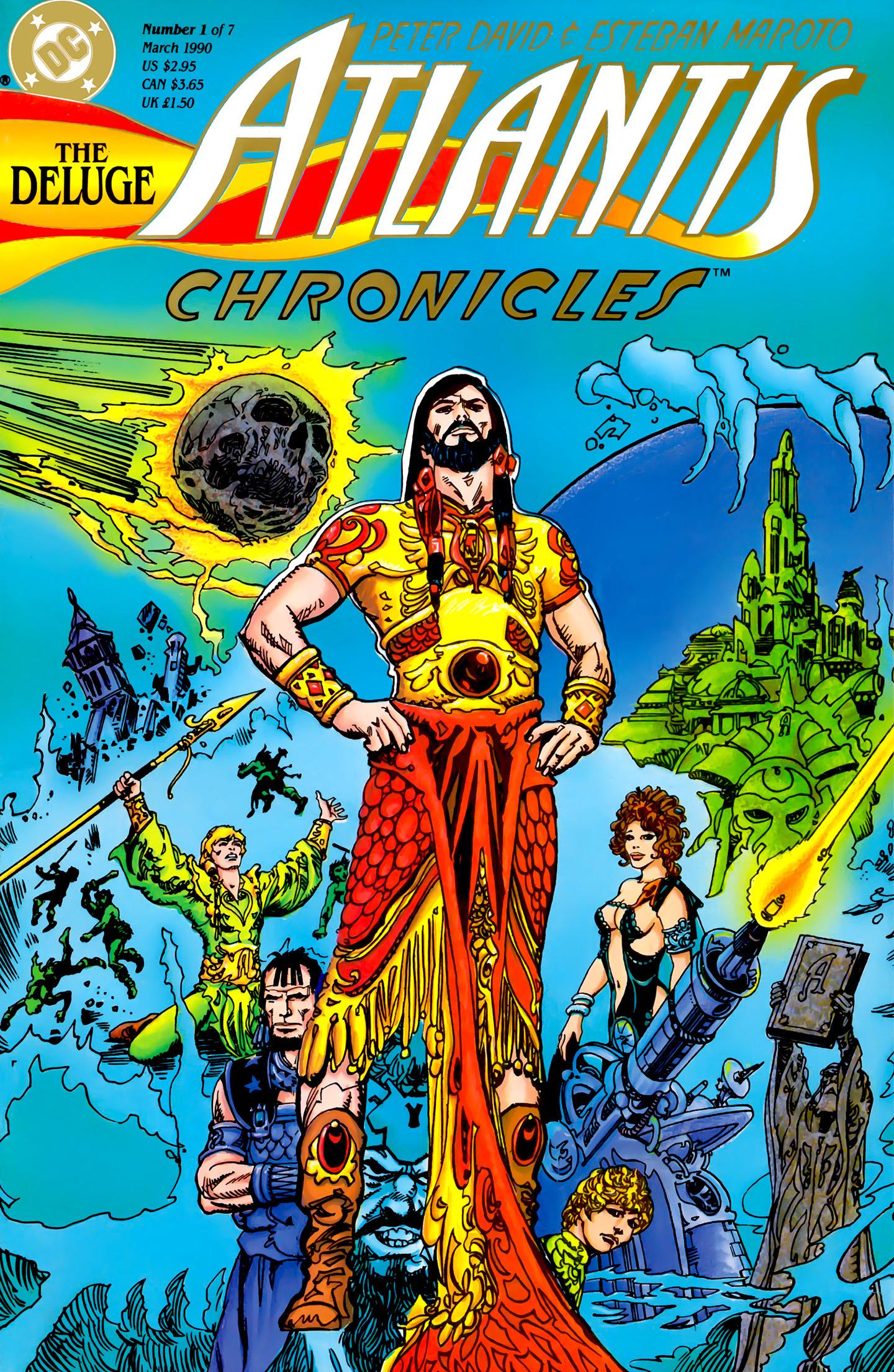 Read online Atlantis Chronicles comic -  Issue #1 - 1