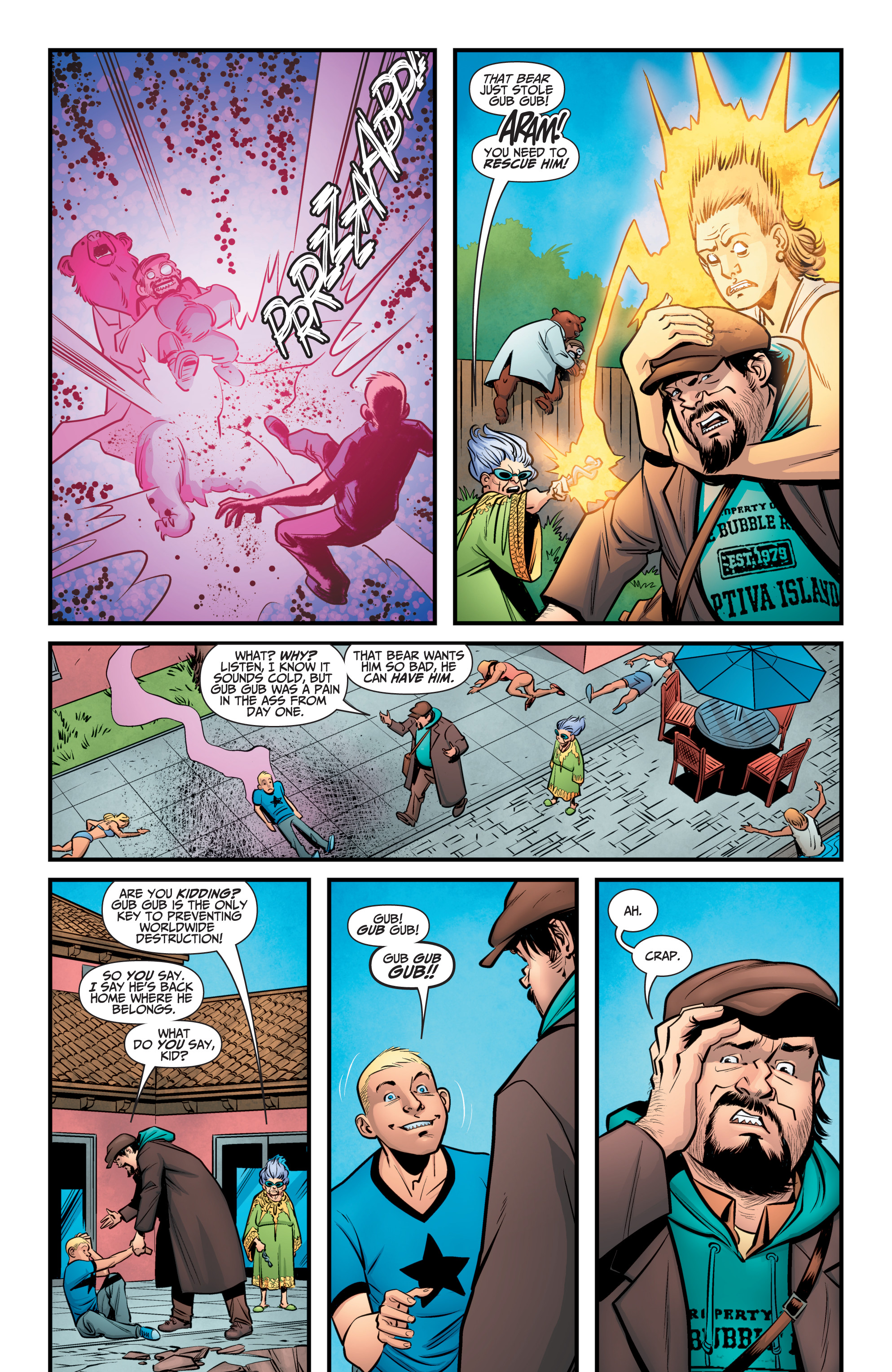 Read online A&A: The Adventures of Archer & Armstrong comic -  Issue #10 - 23
