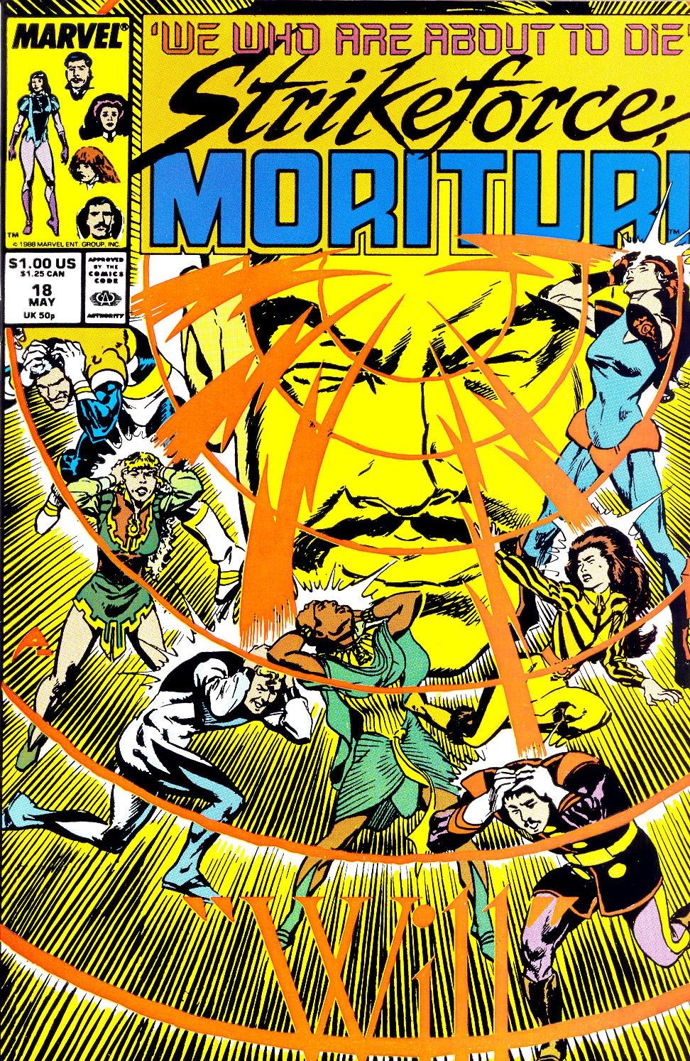 Strikeforce: Morituri 18 Page 1