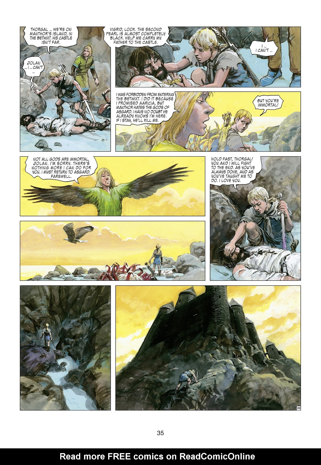 Read online Thorgal comic -  Issue #21 - 37