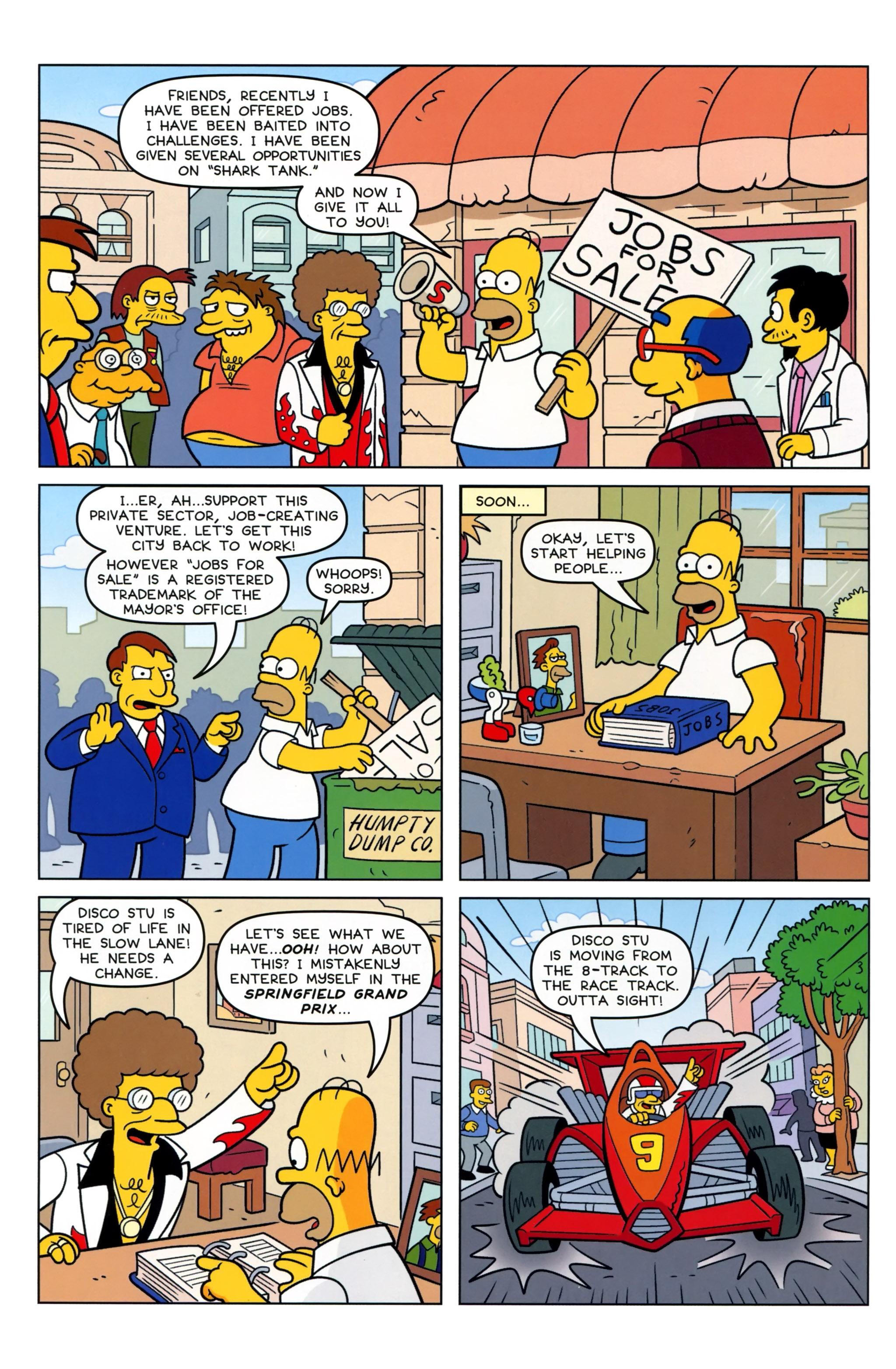 Read online Simpsons Comics comic -  Issue #223 - 11
