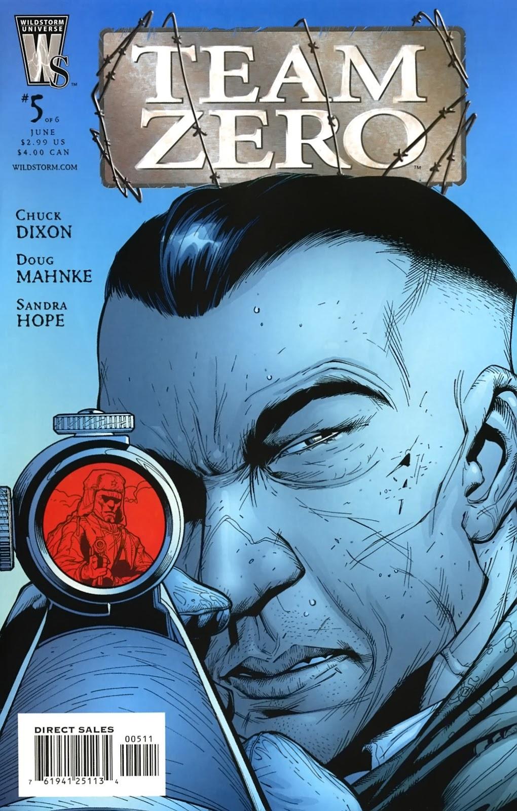 Team Zero issue 5 - Page 1