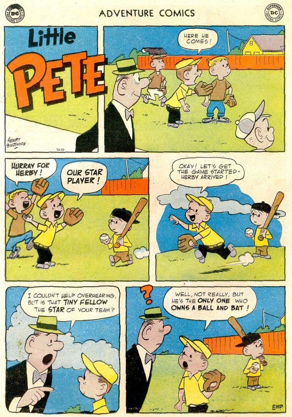 Read online Adventure Comics (1938) comic -  Issue #248 - 14