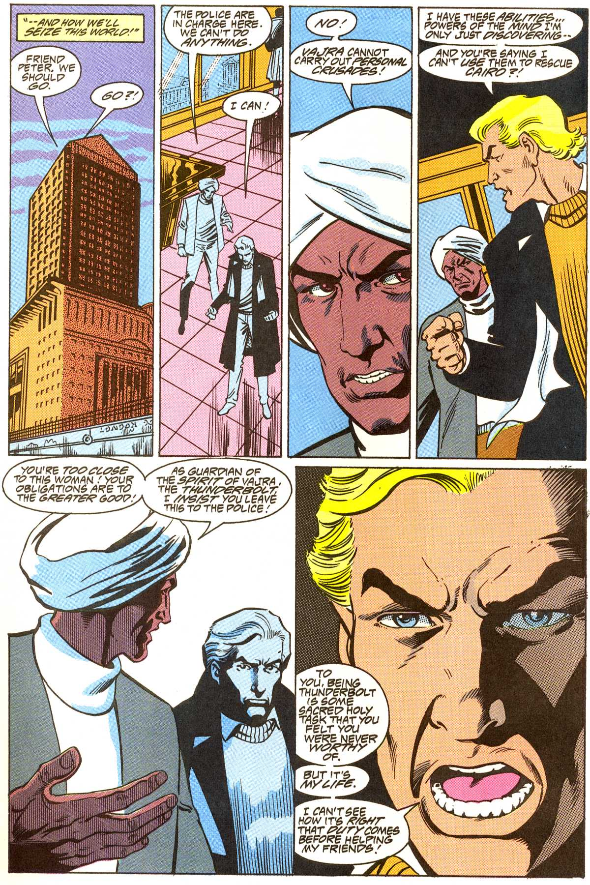 Read online Peter Cannon--Thunderbolt (1992) comic -  Issue #8 - 9