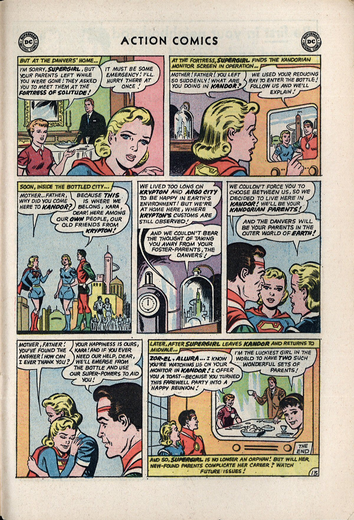 Read online Action Comics (1938) comic -  Issue #310 - 31