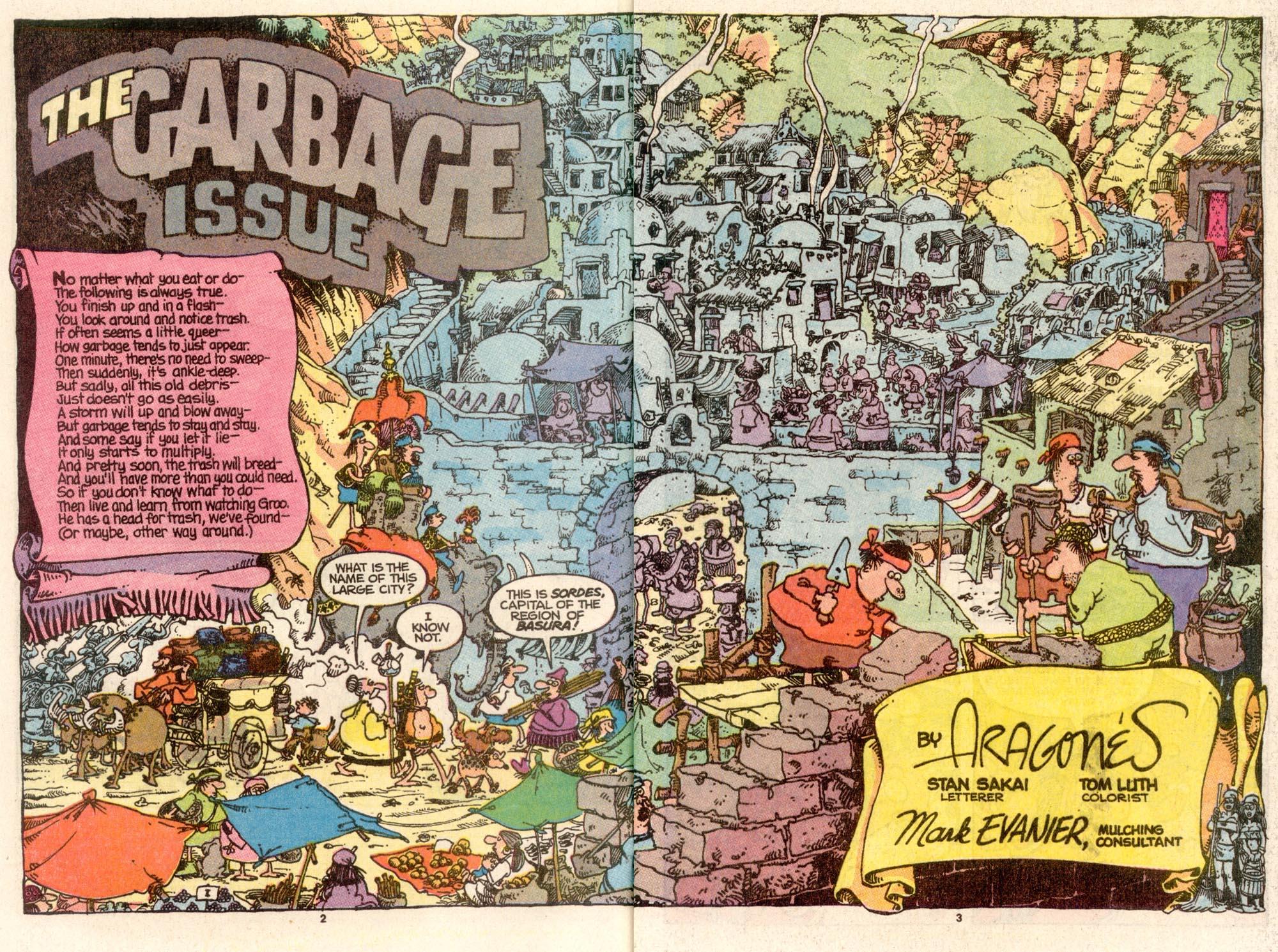 Read online Sergio Aragonés Groo the Wanderer comic -  Issue #65 - 3