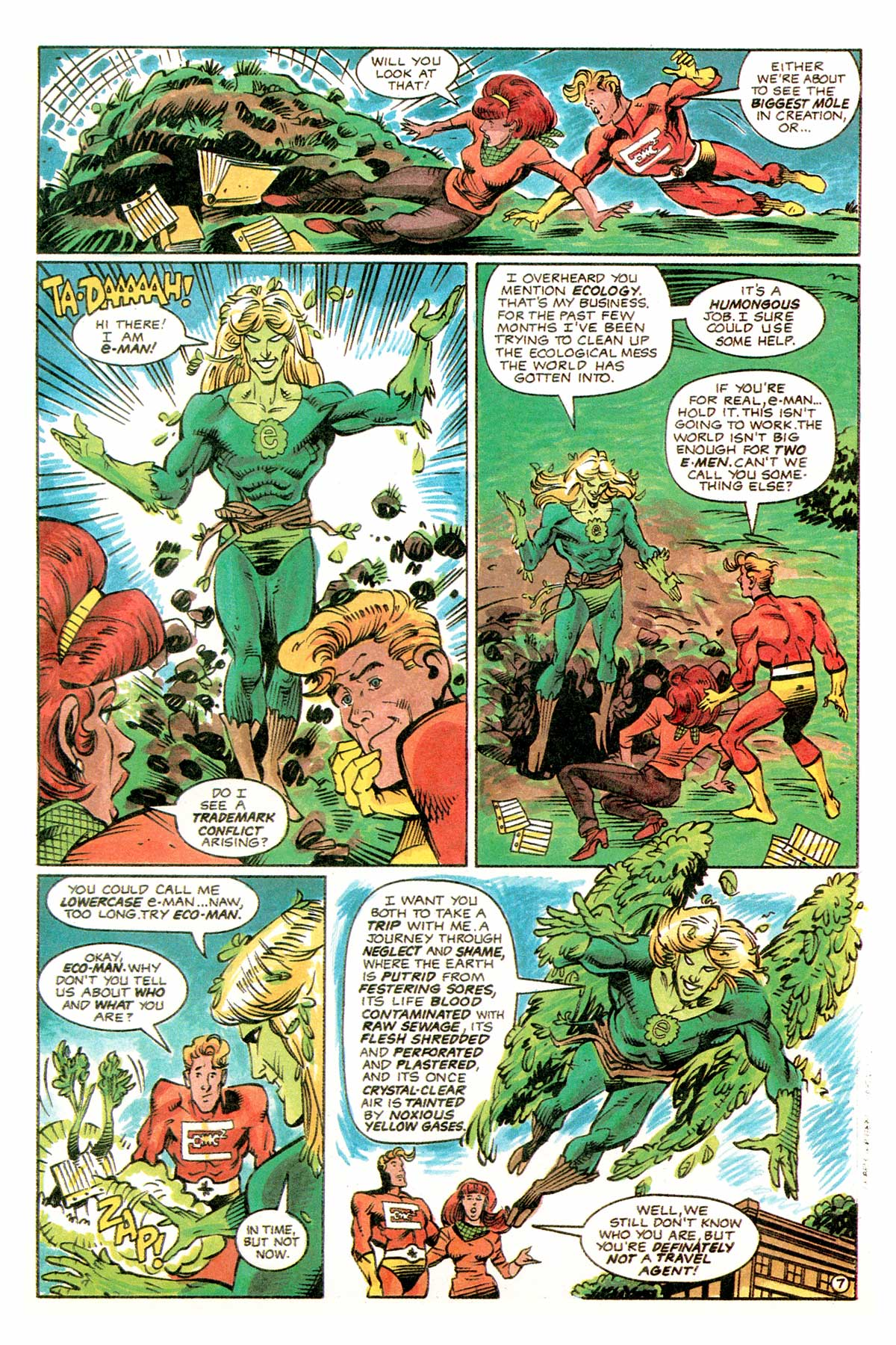 Read online E-man (1993) comic -  Issue # Full - 10