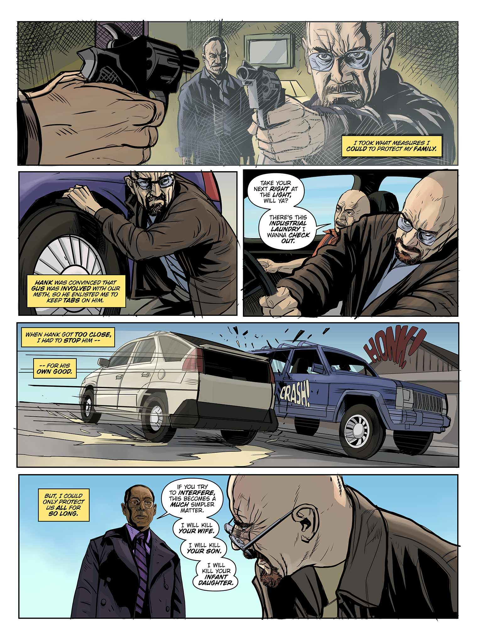 Read online Breaking Bad: All Bad Things comic -  Issue # Full - 15