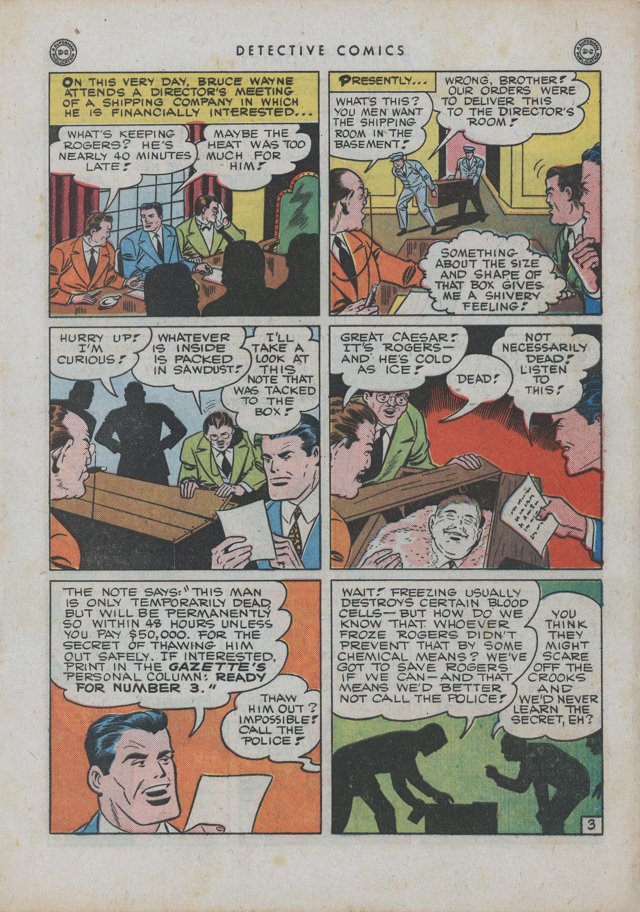 Read online Detective Comics (1937) comic -  Issue #99 - 6