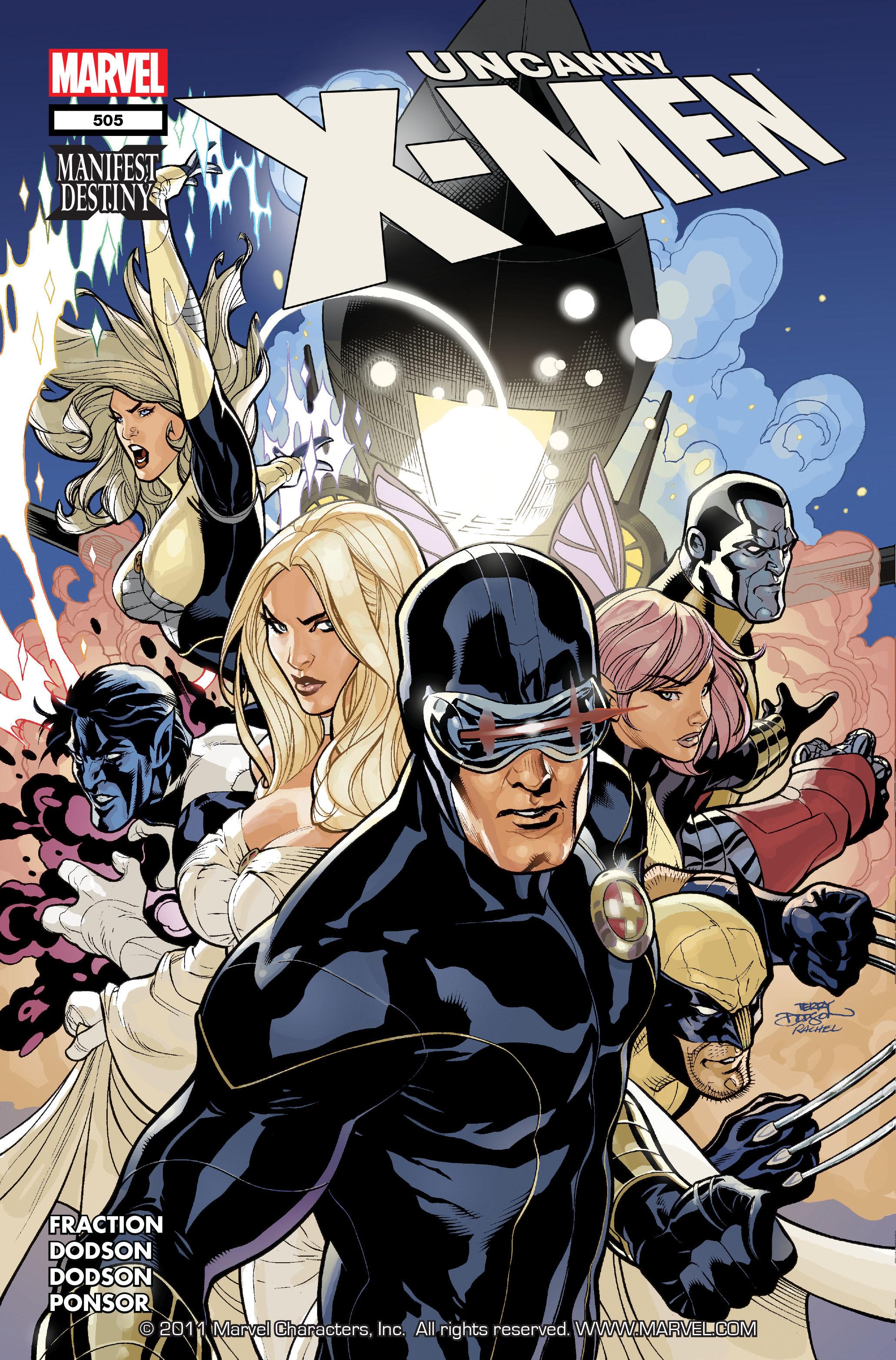 Uncanny X-Men (1963) 505 Page 1
