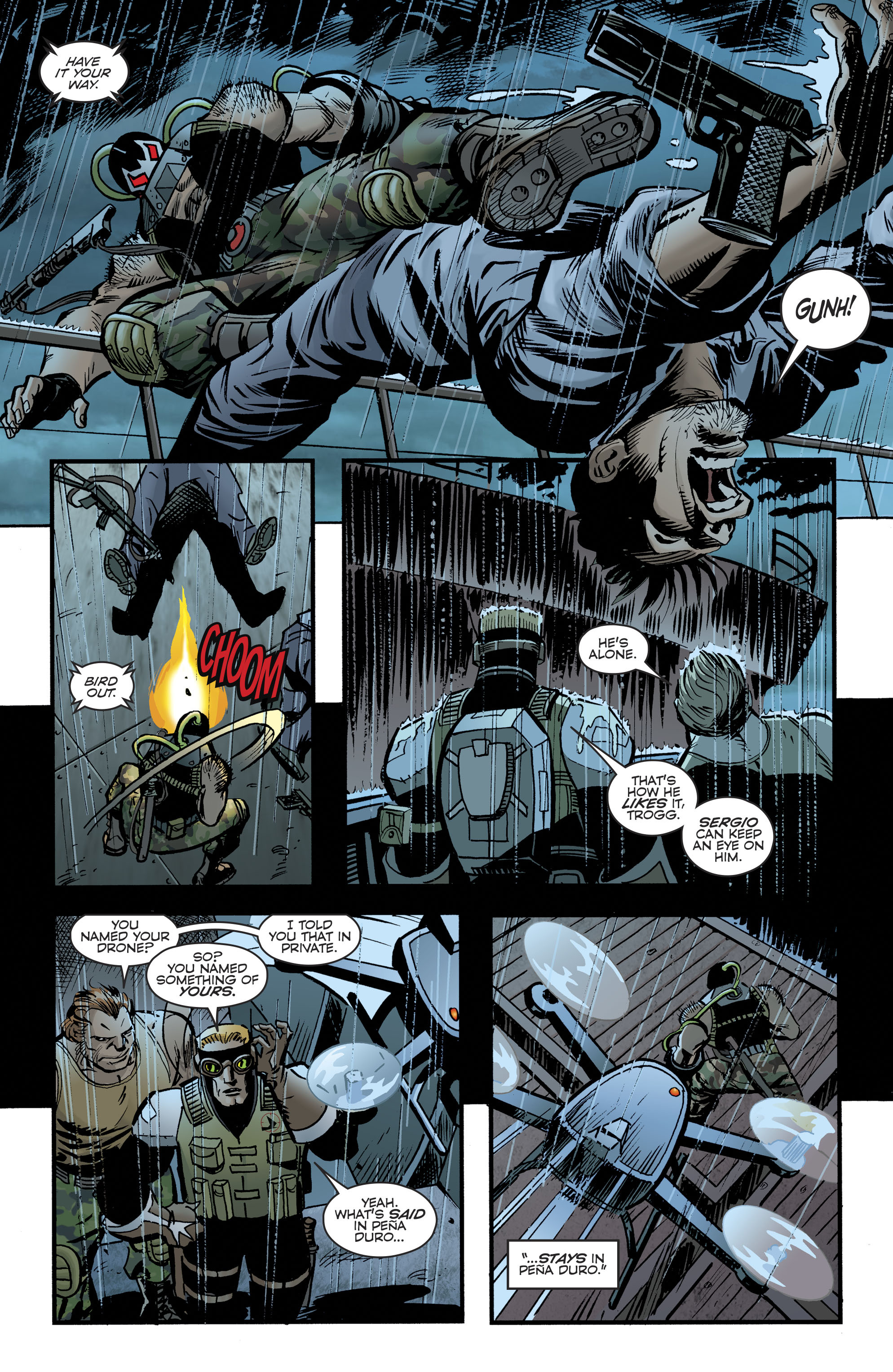 Read online Bane: Conquest comic -  Issue #1 - 7