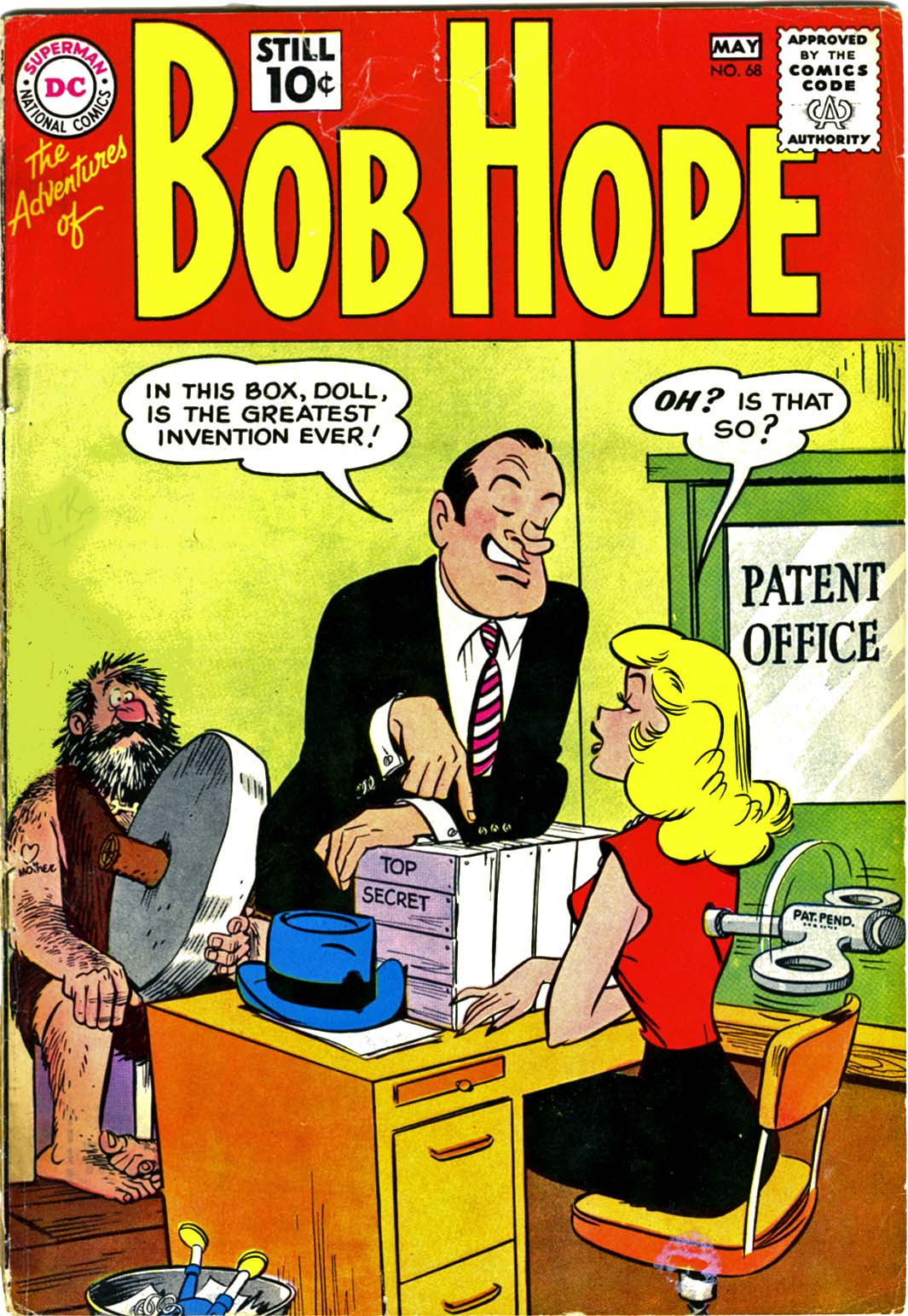 The Adventures of Bob Hope issue 68 - Page 1