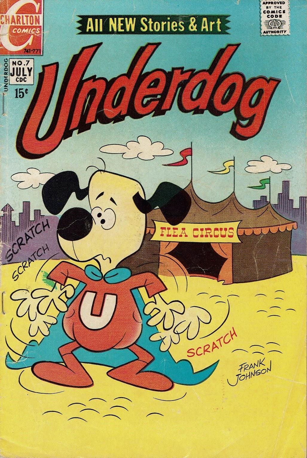 Underdog (1970) issue 7 - Page 1
