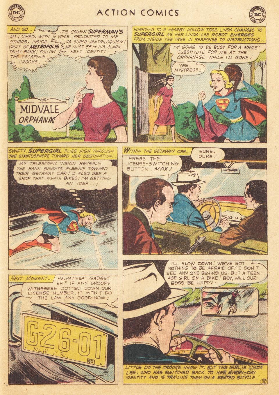 Read online Action Comics (1938) comic -  Issue #265 - 21