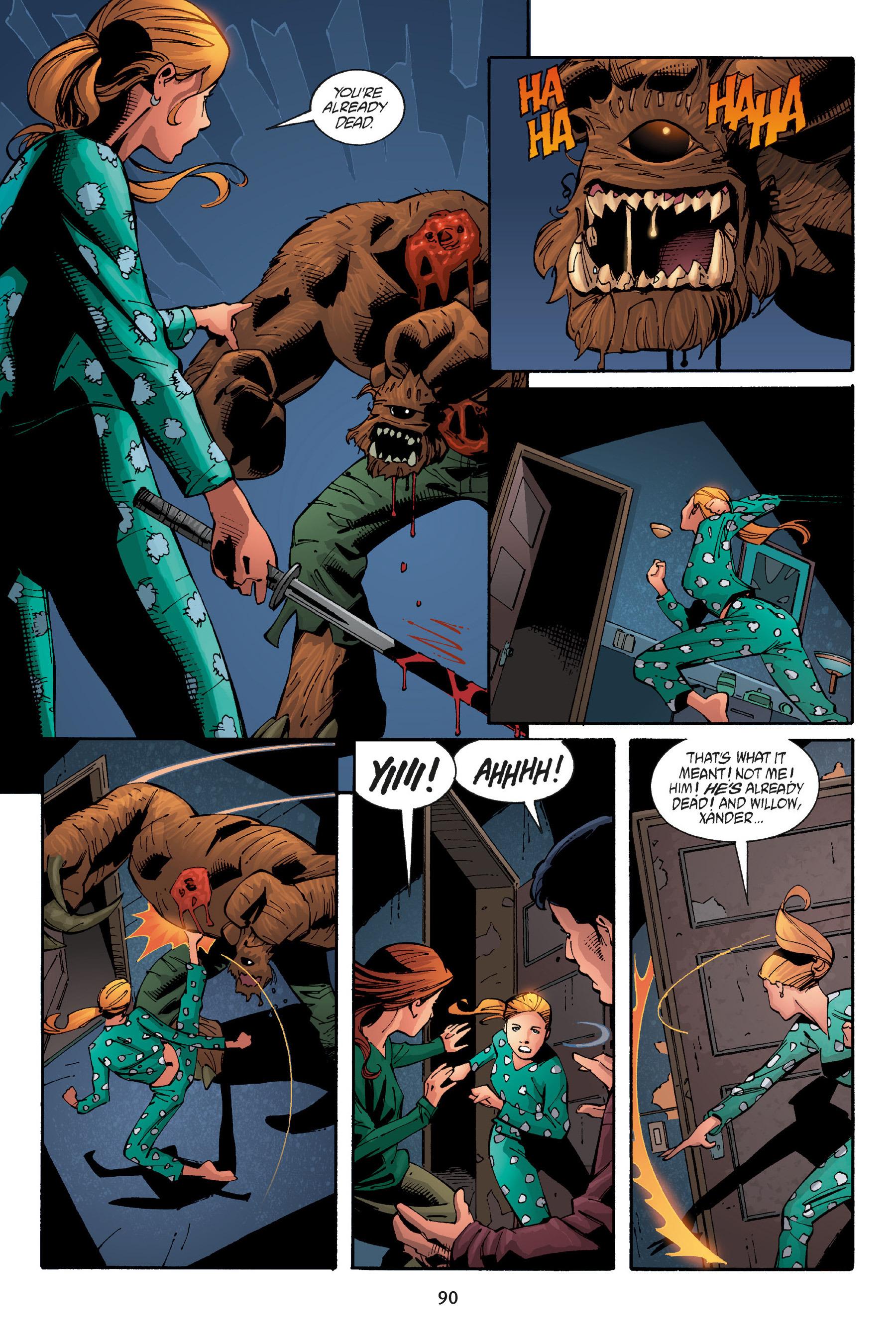 Read online Buffy the Vampire Slayer: Omnibus comic -  Issue # TPB 5 - 91
