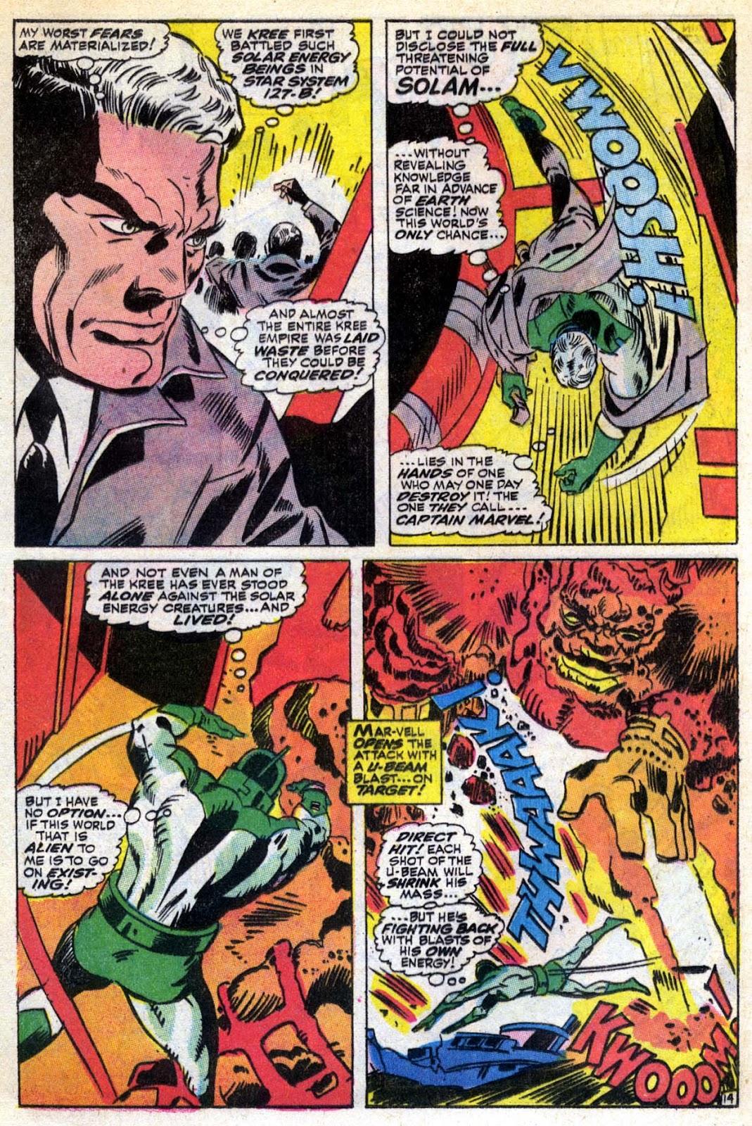 Captain Marvel (1968) Issue #6 #6 - English 15