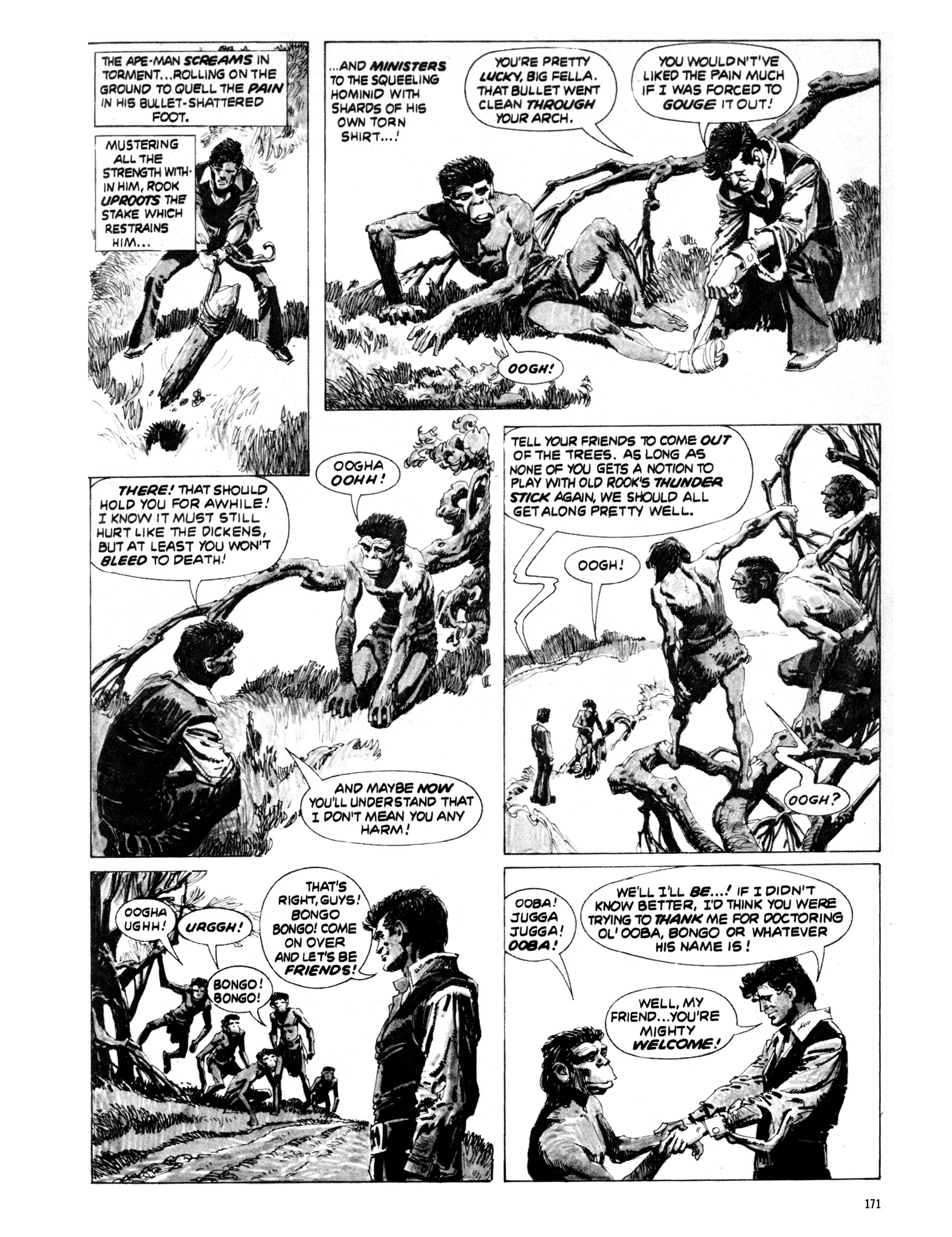 Read online Eerie Archives comic -  Issue # TPB 20 - 171