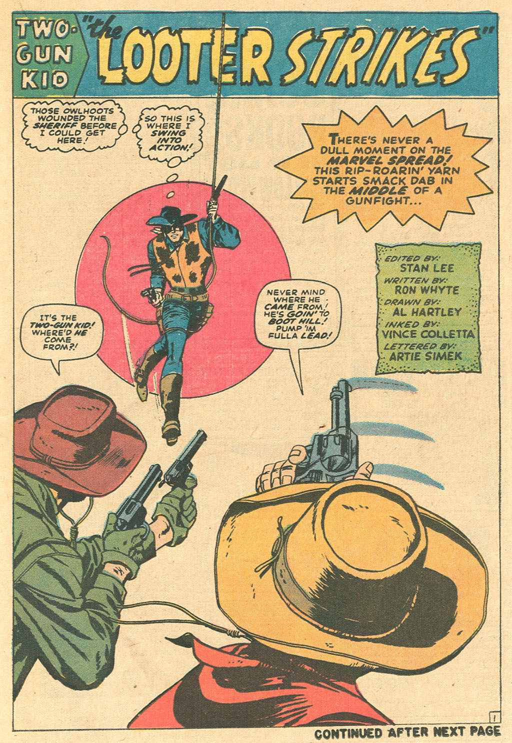 Read online Two-Gun Kid comic -  Issue #97 - 21