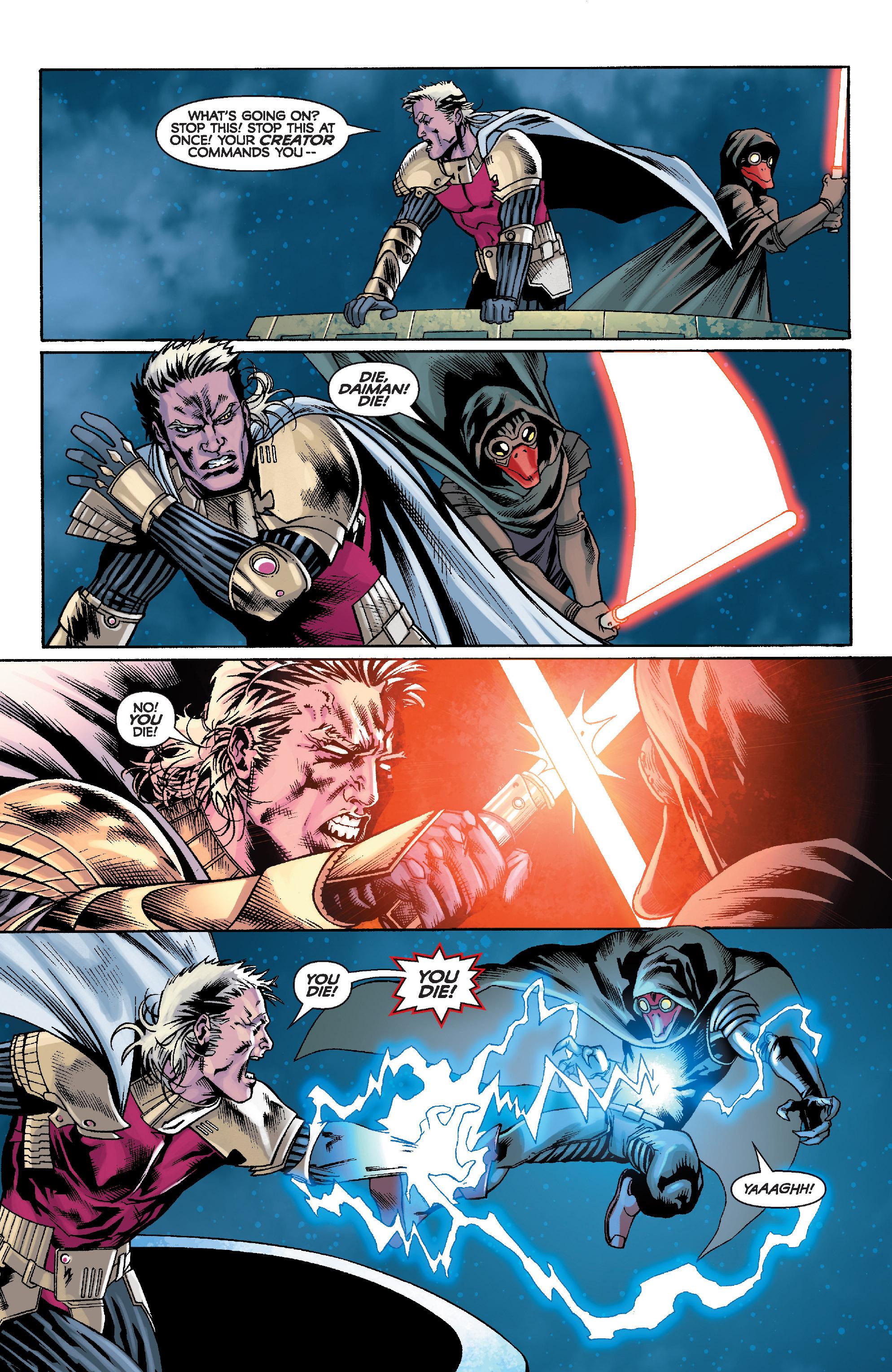 Read online Star Wars: Knight Errant - Escape comic -  Issue #4 - 14