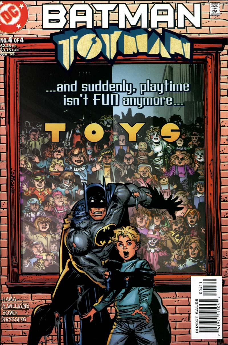 Batman: Toyman 4 Page 1