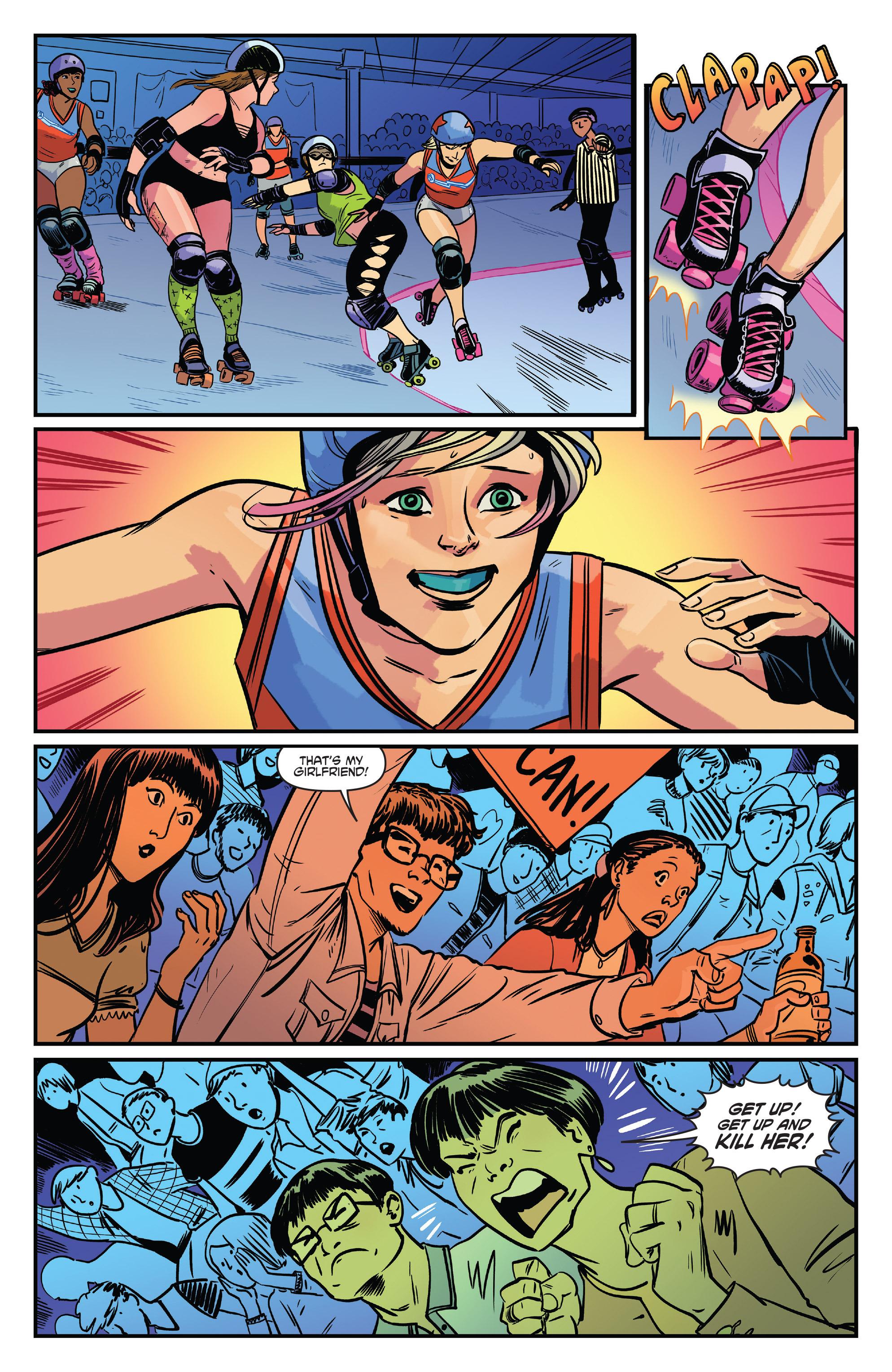 Read online Slam! comic -  Issue #4 - 17