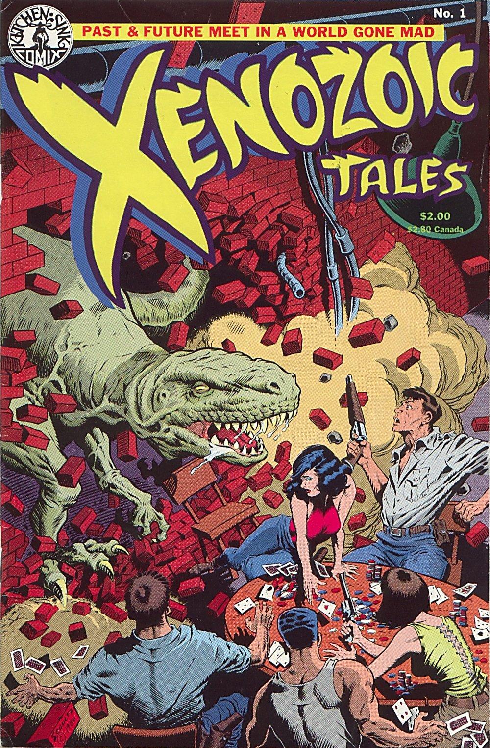Read online Xenozoic Tales comic -  Issue #1 - 2