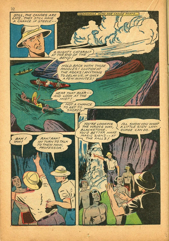 Read online Super-Magician Comics comic -  Issue #9 - 32